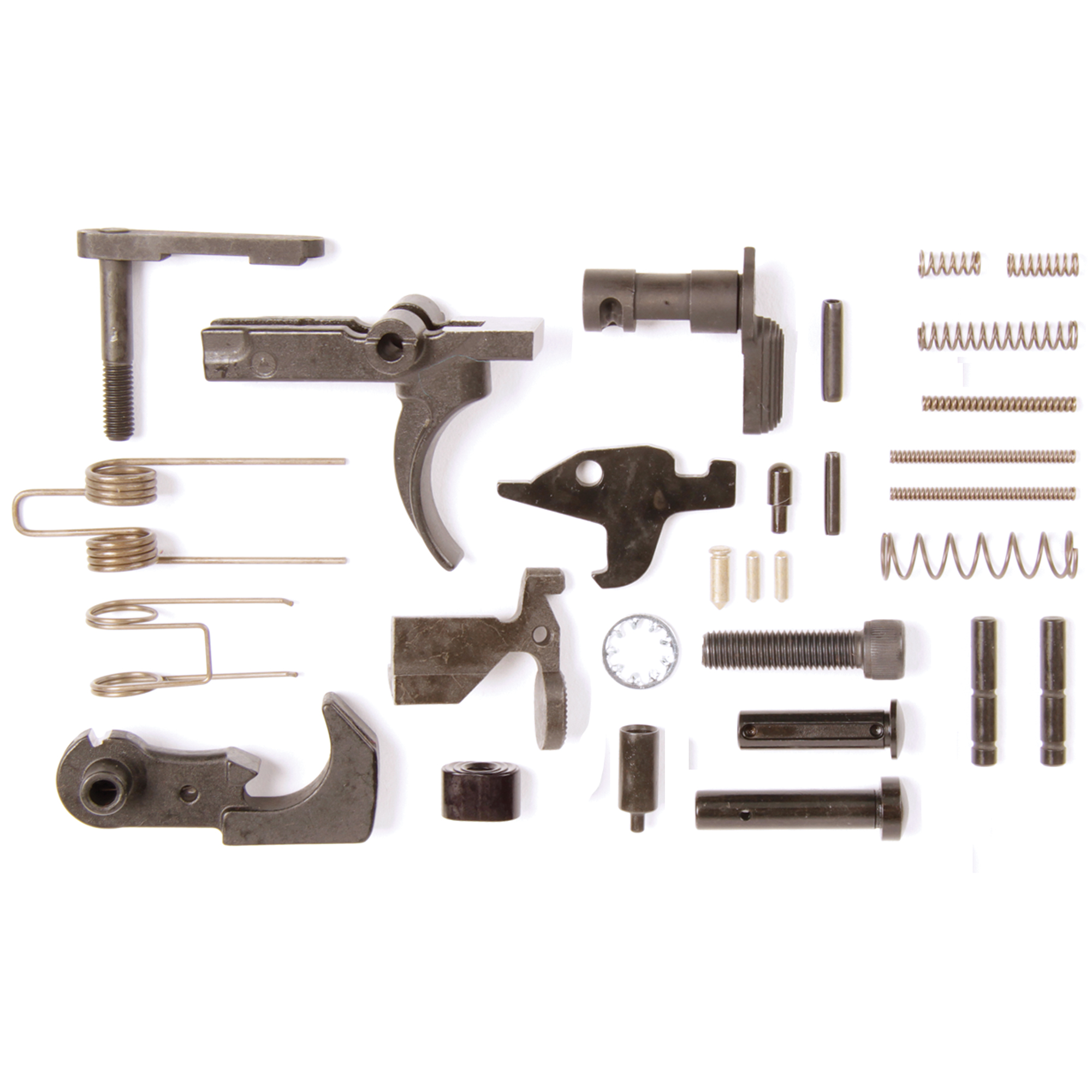 AR15 Lower Parts Kit-No Pistol Grip or Trigger Guard. Perfect for your next custom build.