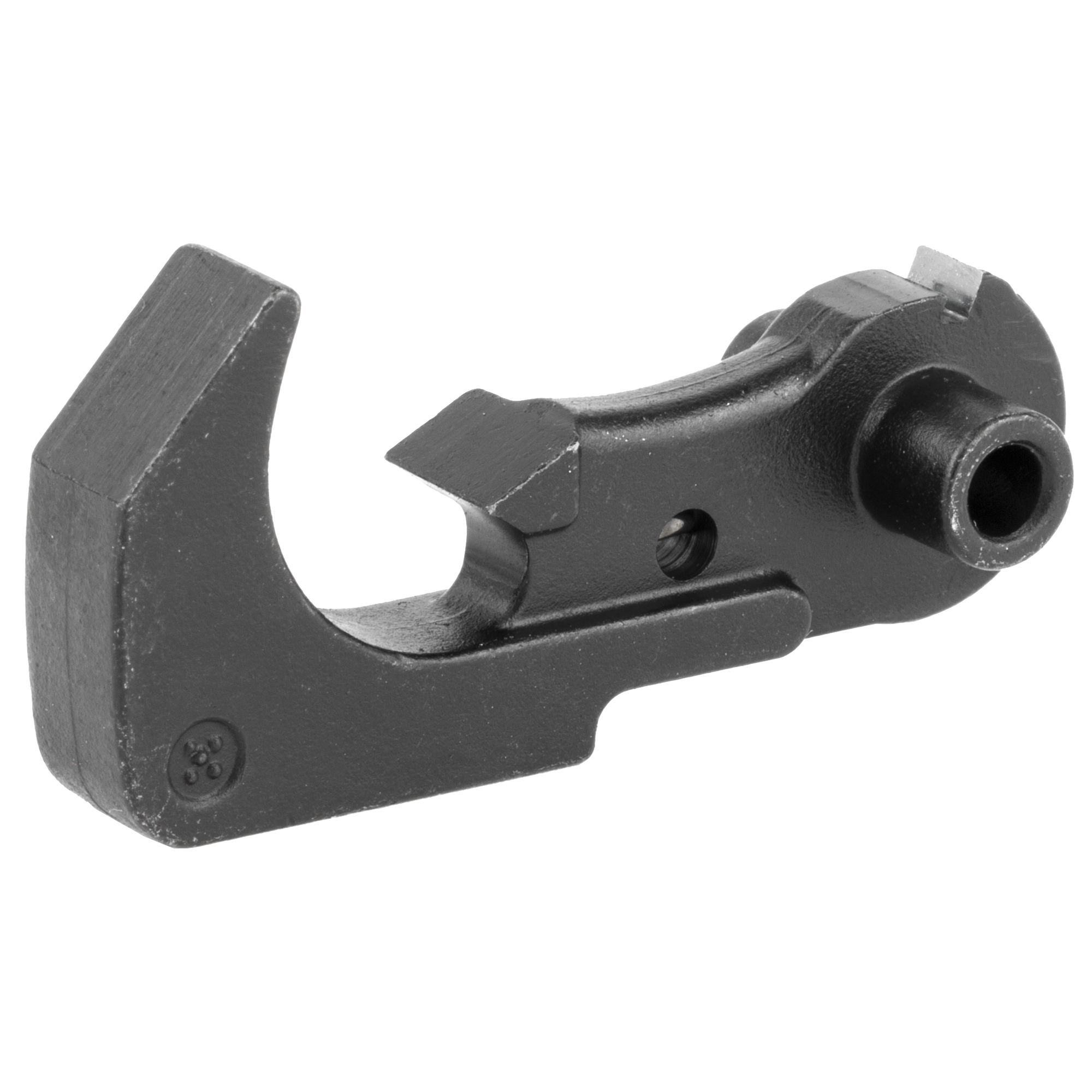 The LBE AR-15 hammer is made in the USA from 8620 steel.