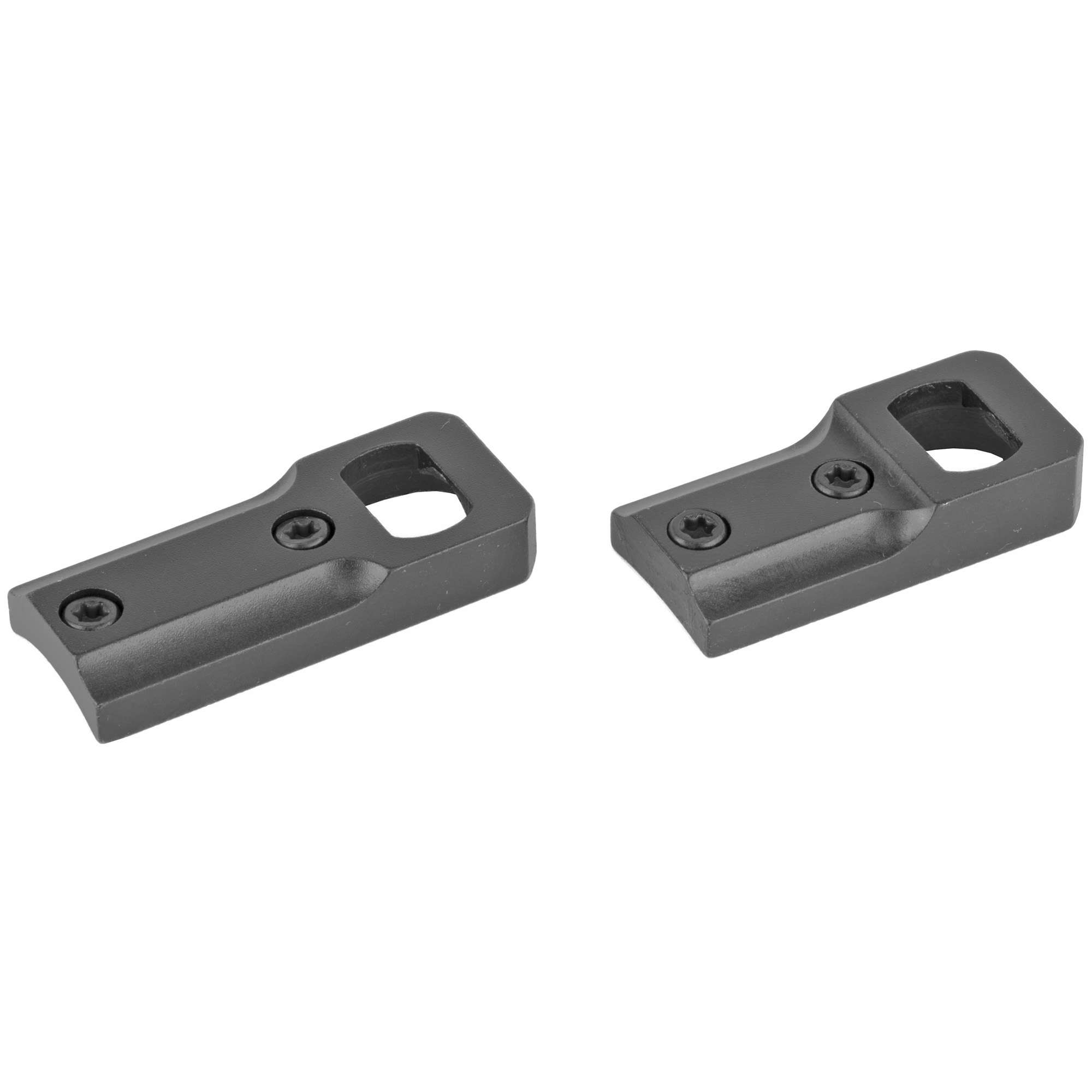 "Leupold's steel Dual Dovetail bases and rings are one of their strongest mount systems"" designed for large caliber rifles with high recoils. The twist-and-lock action of the rings ensures a strong connection with the one or two-piece base."