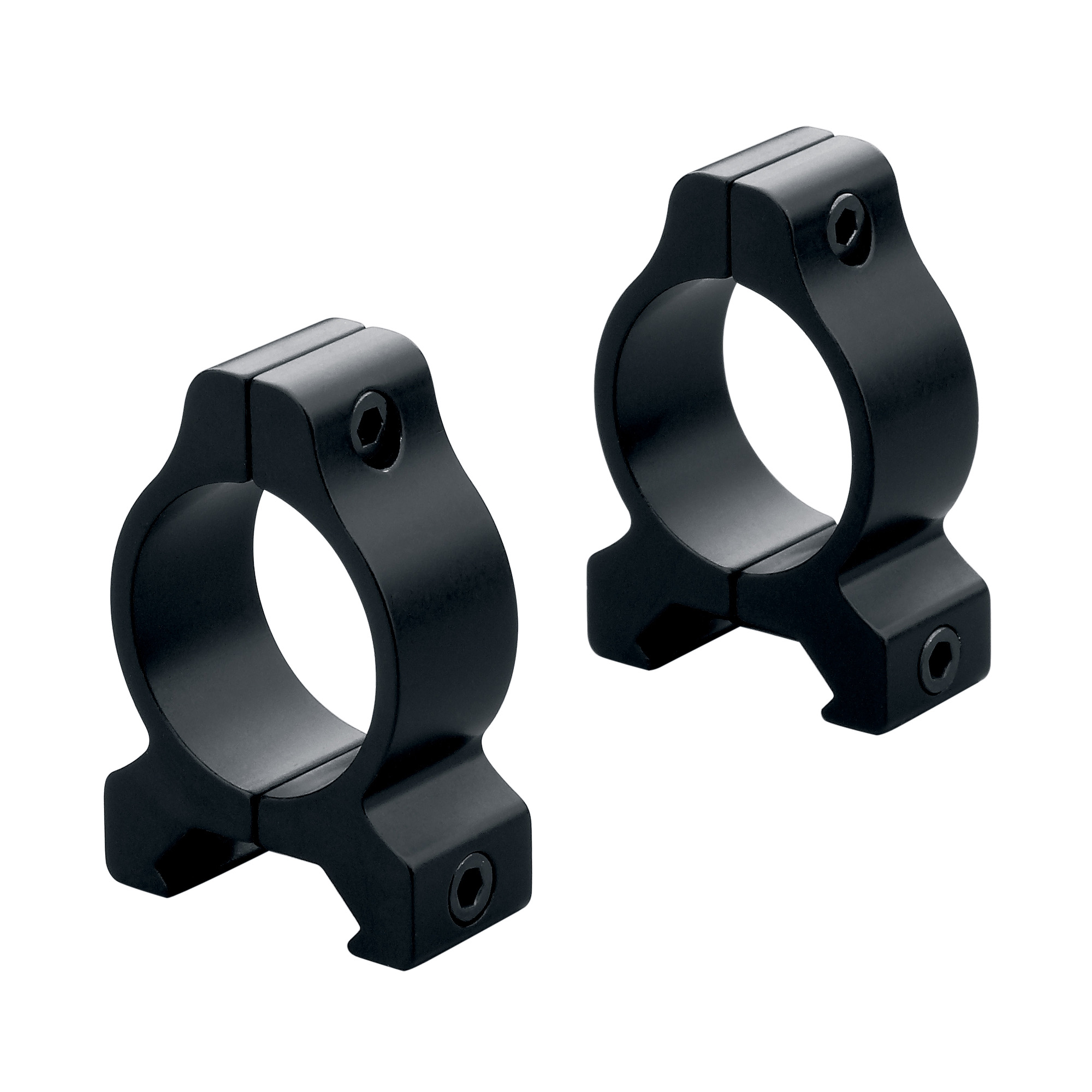 "Leupold's aluminum Rifleman mounts are an economical alternative to steel mounts"" yet these rings and bases still provide the strength and accuracy you expect from Leupold."