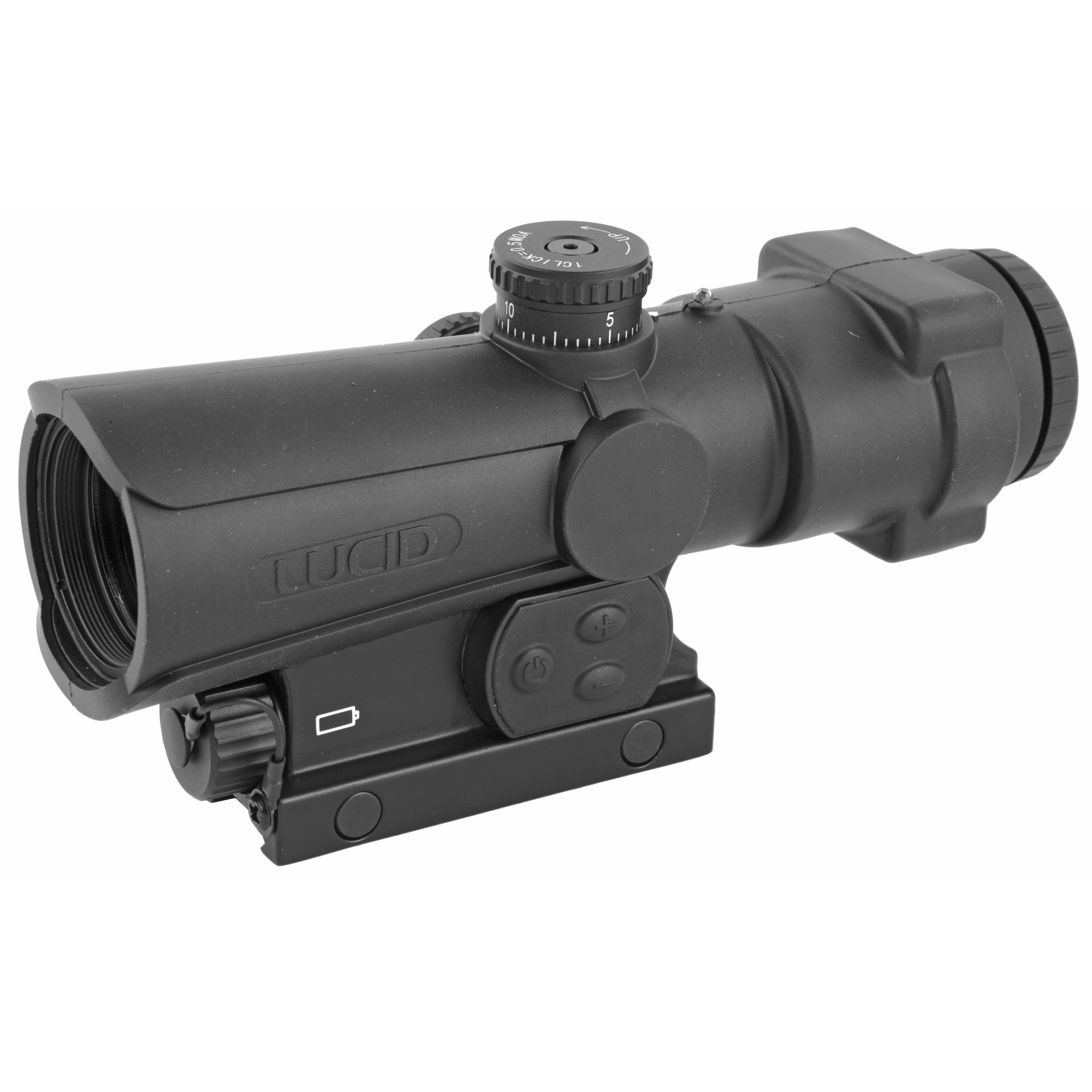 "The P7 offers fast targeting with a highly useful ballistic MOA measuring tape in the (P7) reticle. This reticle is specifically designed to offer the fast target acquisition necessary in a combat optic"" along with highly useful MOA measuring tape"" ballistic hold over information up to 80 MOA in elevation. This reticle will allow for the operator to manage any target with relative ease"" near or far. As expected"" the P7 has been designed from the ground up to be a strong"" reliable optic that offers the most in operator selectable features and benefits that exceed the market standards at a price that is very affordable."