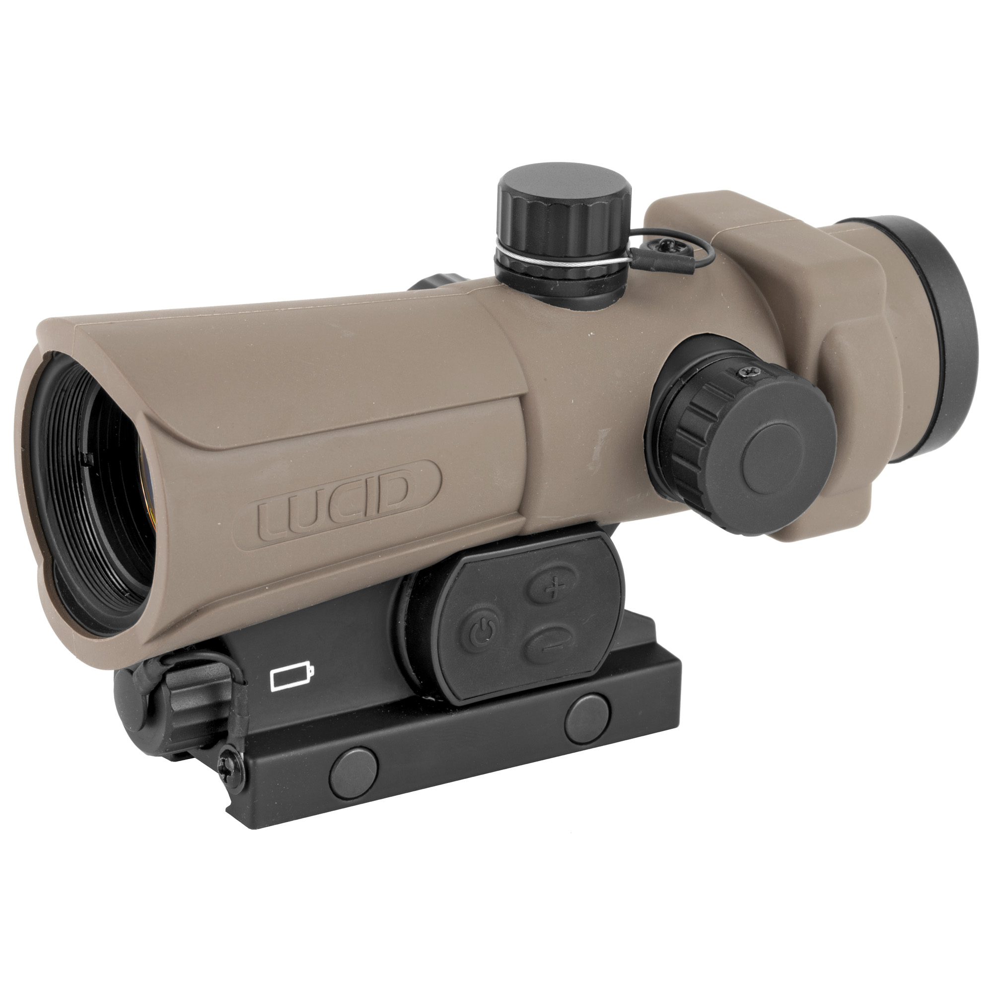 "As with the original version of the HD7"" you don't have to compromise with the GEN III HD7. At LUCID OPTICS they recognize that no two shooting situations are ever the same"" and feel your optic should be able to provide functional feature benefits to assist in most situations. The HD7 has been designed from the ground up to be a strong"" reliable optic that offers the most in operator selectable features and benefits that exceed the market standards at a price that is friendly to the wallet. The HD7 is a solid alternative to other much higher priced optics on the market today. Give the HD7 an honest look and we think you will agree."