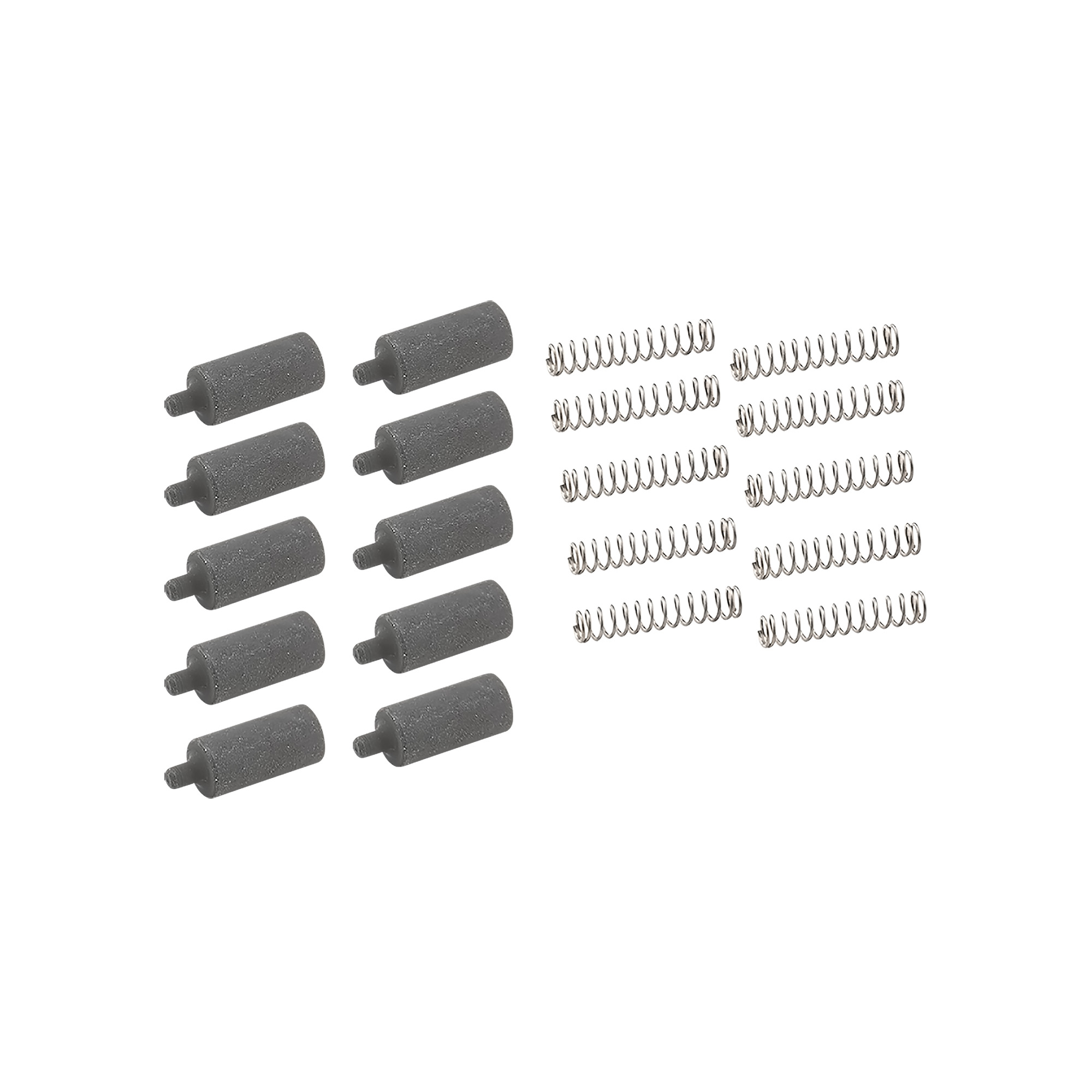 "If you are working on several AR's and are constantly in need of buffer retainers"" this 10 pack is for you. The Buffer retainer is designed to retain the buffer while under spring tension in the buffer tube."