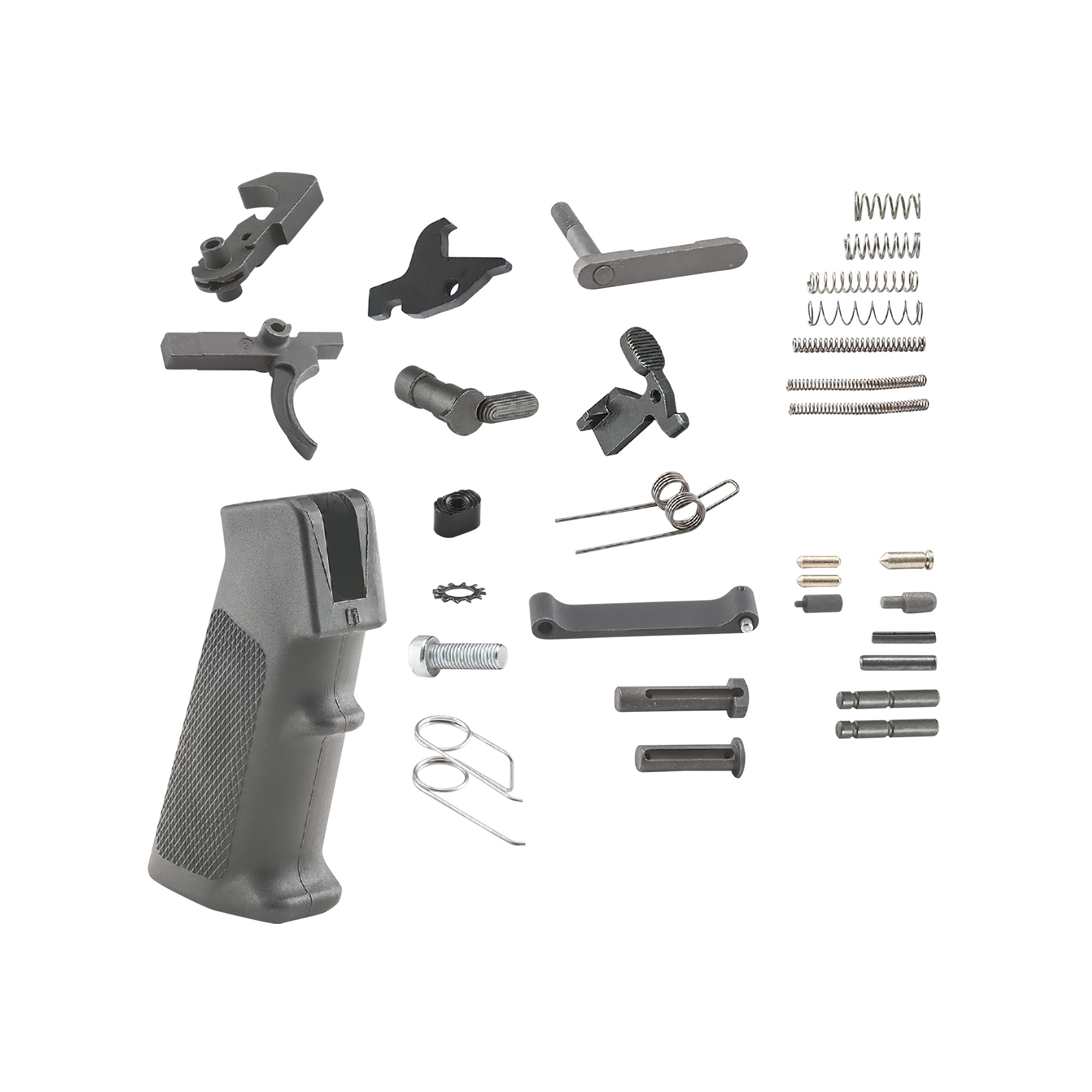 LUTH-AR complete lower parts kit for AR-15.