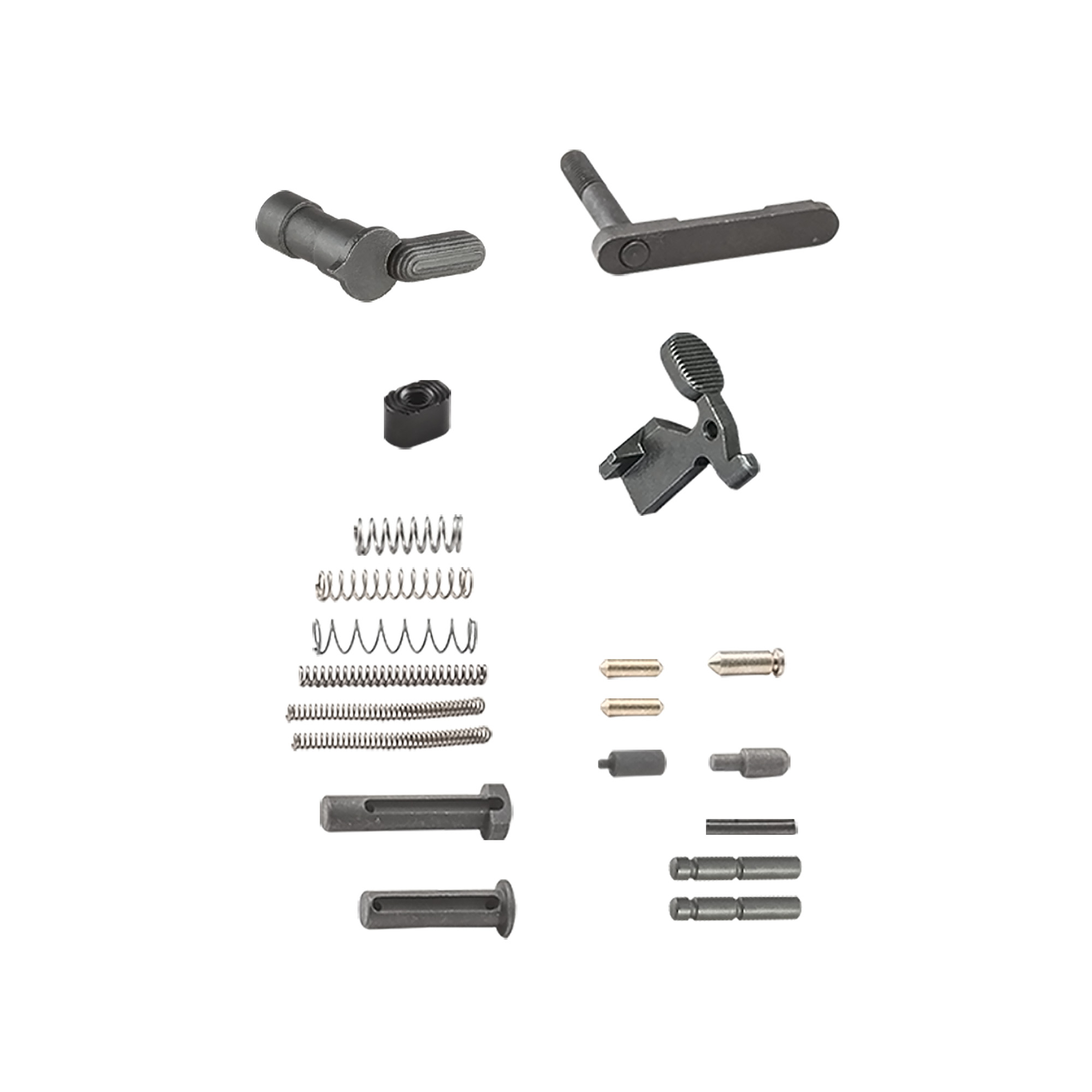 LUTH-AR builder parts kit for AR-15 lower.