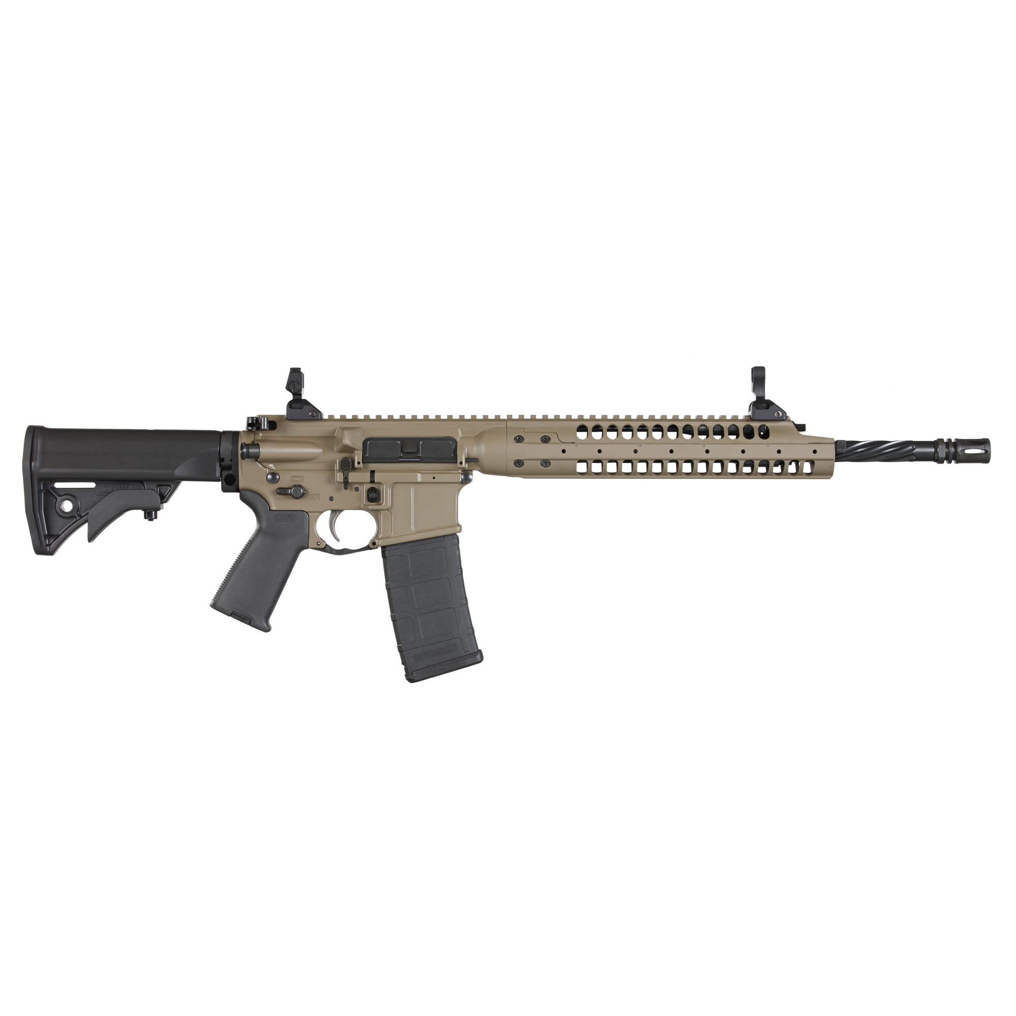 "Directly descended from the rifles developed by LWRCI(TM) to meet the requirements for the U.S. Army Individual Carbine program"" the IC-A5 is built for high performance."