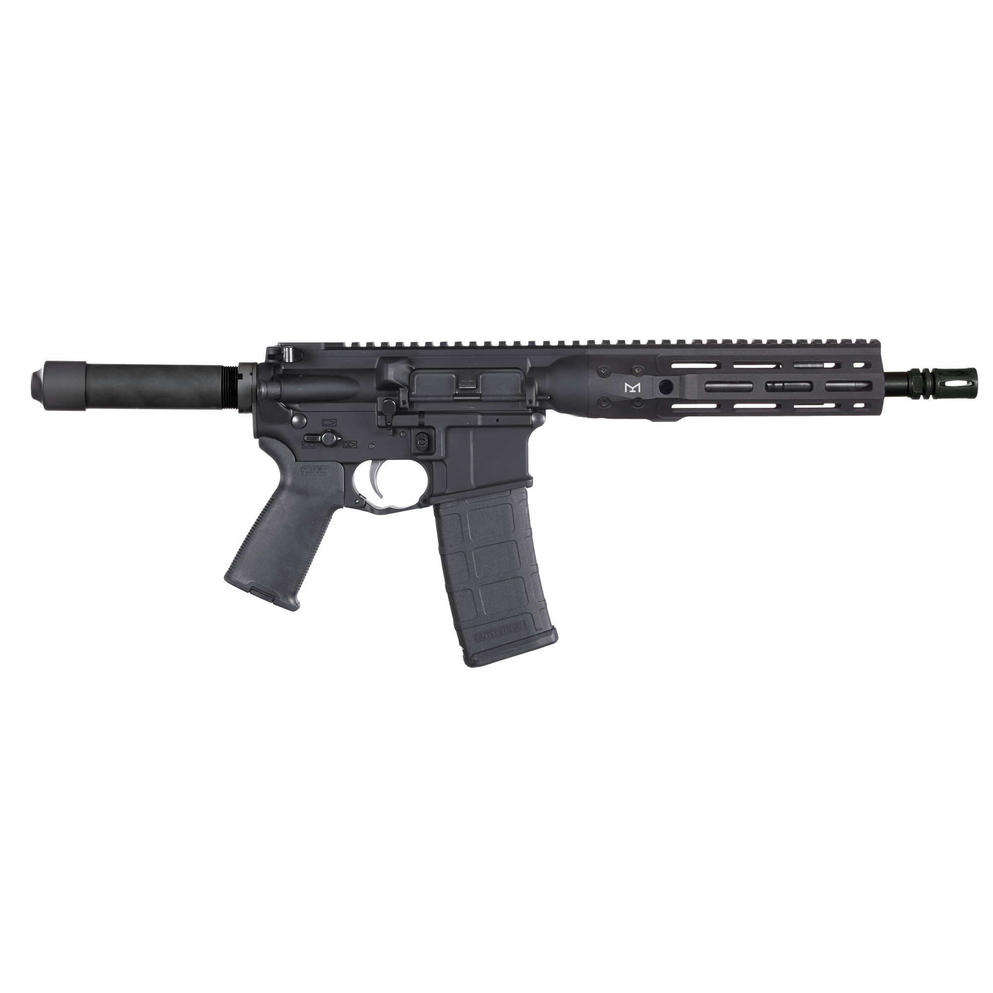 "The LWRCI(TM) Di Pistol is made with the same craftsmanship and design excellence that comes with every LWRCI(TM) firearm. Built from the ground up to be more than just another direct impingement pistol"" the LWRCI(TM) Di MLOK Pistol delivers the quality every rifle enthusiast demands with innovation that's expected from LWRCI(TM)."