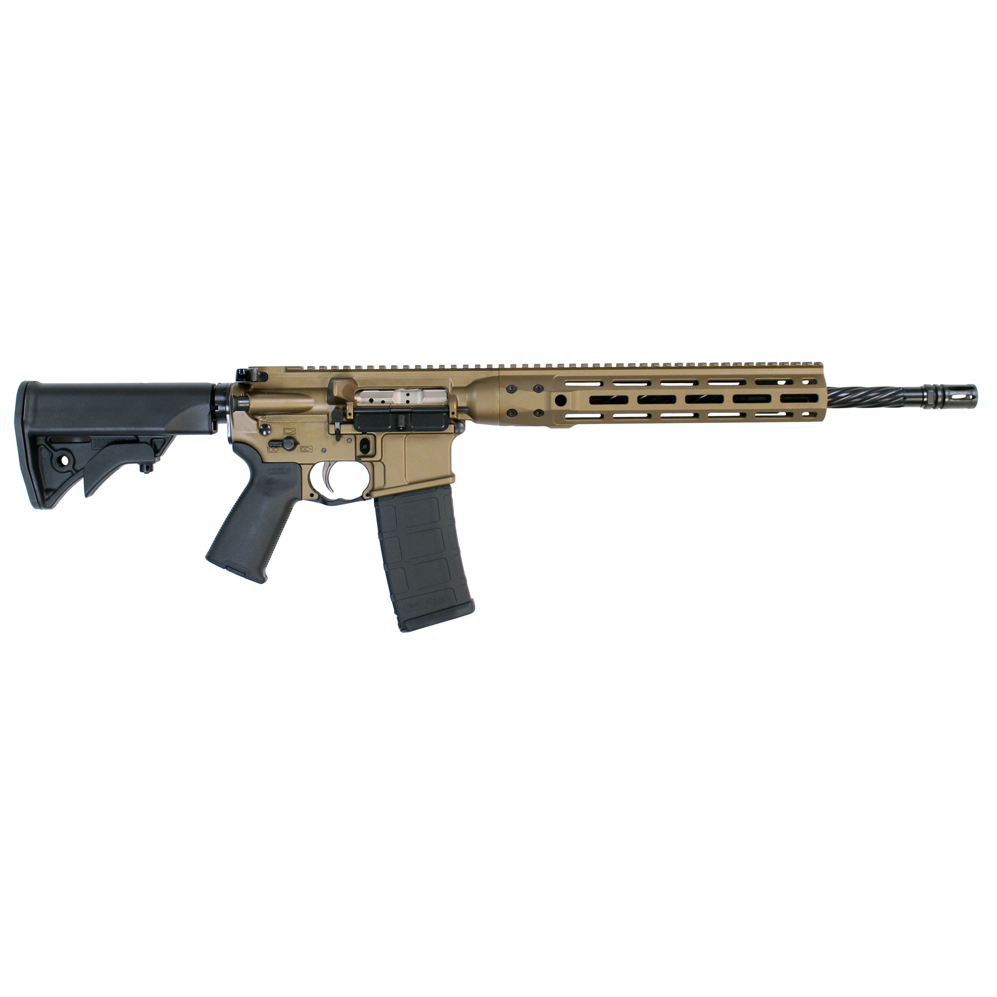"The LWRCI(TM) Di is made with the same craftsmanship and design excellence that comes with every LWRCI(TM) firearm. Built from the ground up to be more than just another direct impingement rifle"" the LWRCI(TM) Di delivers the quality every rifle enthusiast demands with innovation that's expected from LWRCI(TM)."