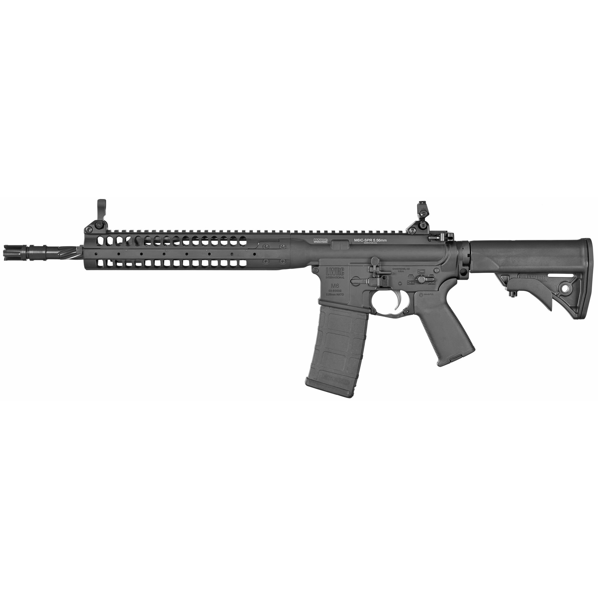"Directly descended from the rifles developed by LWRCI(TM) to meet the requirements for the U.S. Army Individual Carbine program"" the IC-SPR is built for high performance."