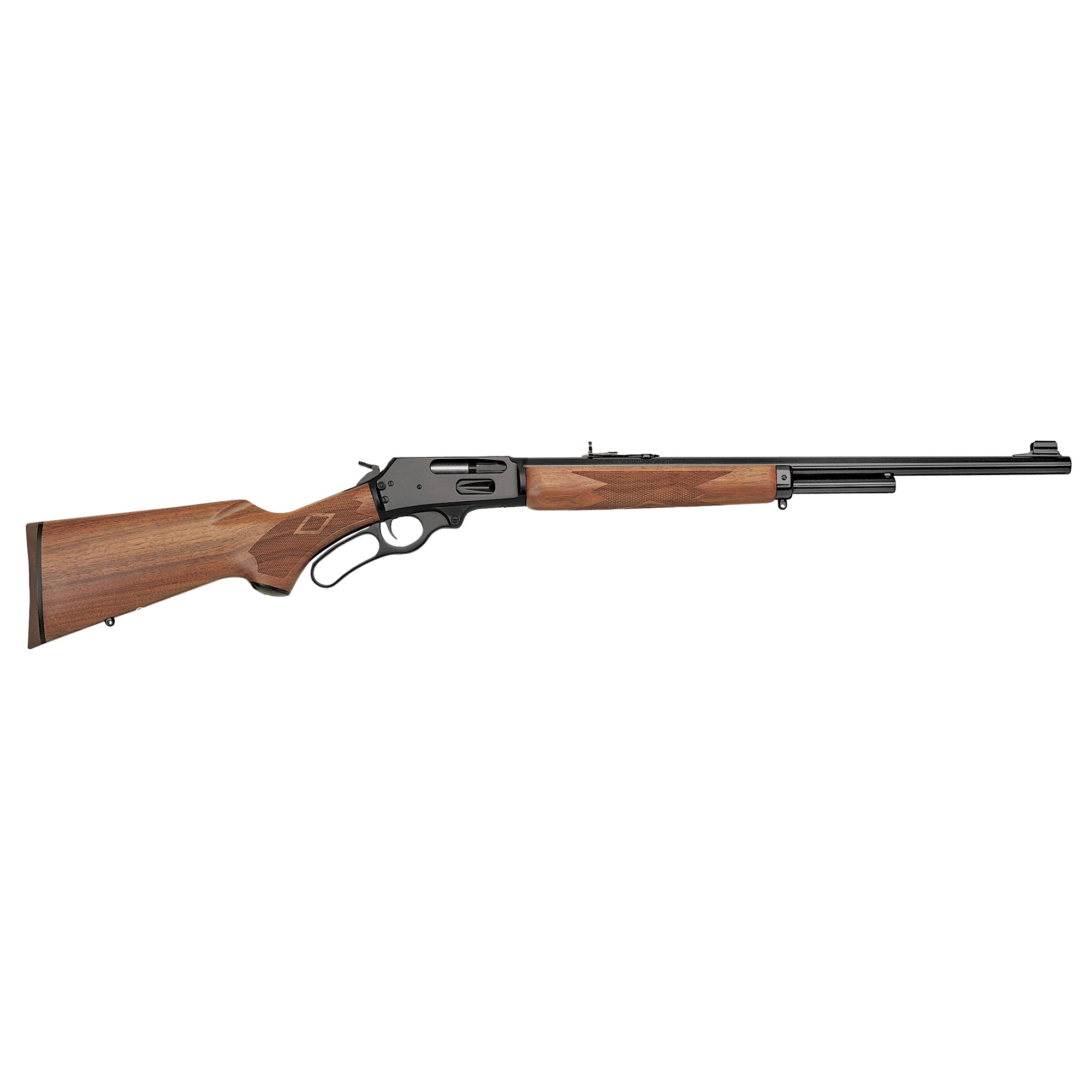 """It's the classic American long gun"""" a tool of history and just as much a symbol of the Old West as the six-shooter. The Marlin(R) brand is synonymous with lever-action repeaters. It's a rich tradition"""" with a heritage stretching back to the Model 1881"""" Marlin's first centerfire"""" and the Model 1891"""" their first rimfire. In fact"""" Annie Oakley trusted the Model 1891 above all others to demonstrate her legendary marksmanship."""