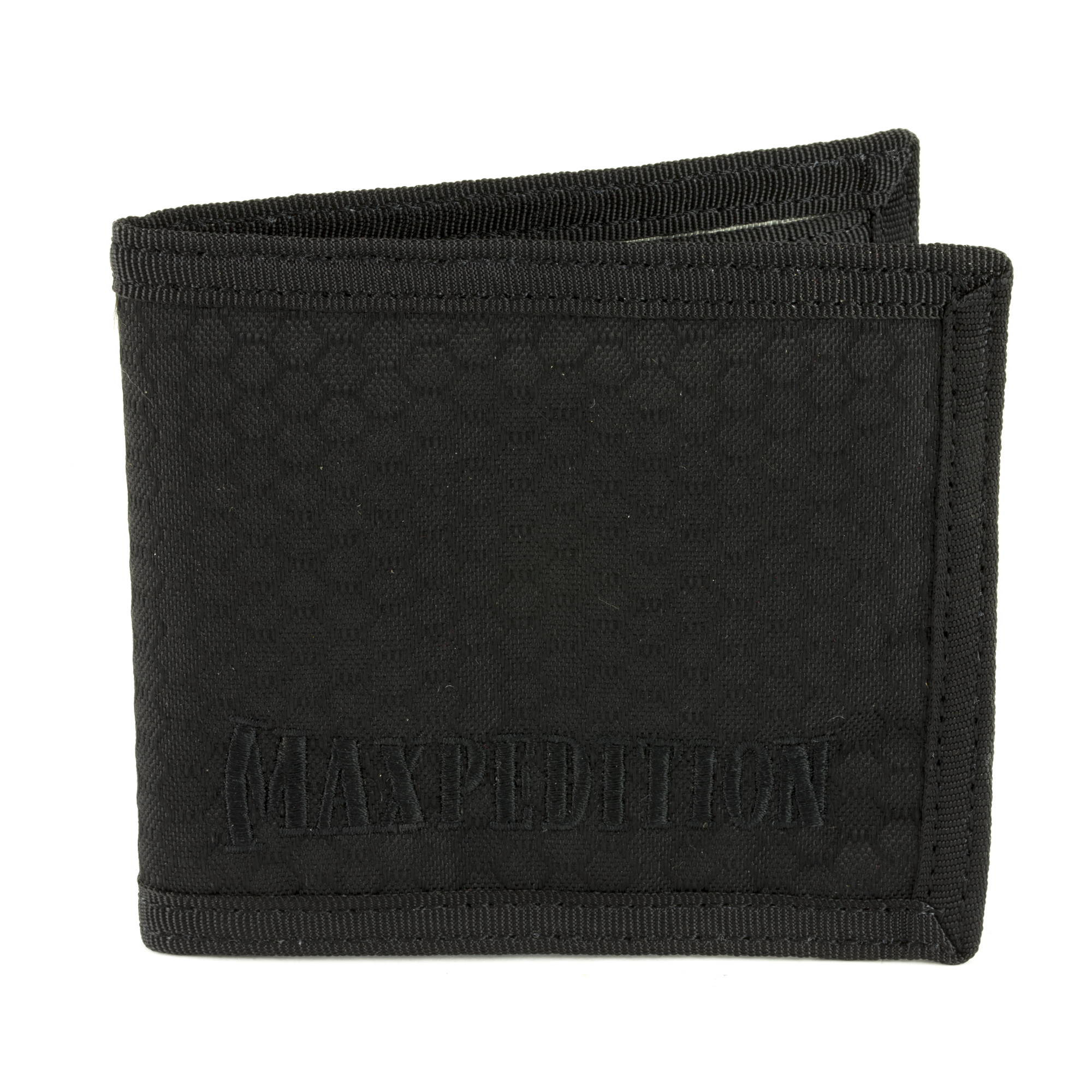 The BFW Bi-Fold Wallet has a slim bi-fold design. There is a clear vinyl window for your DL/ID. The interior has four (4) card compartments and one (1) slip pocket. Paper bill slot fits all major world currencies.