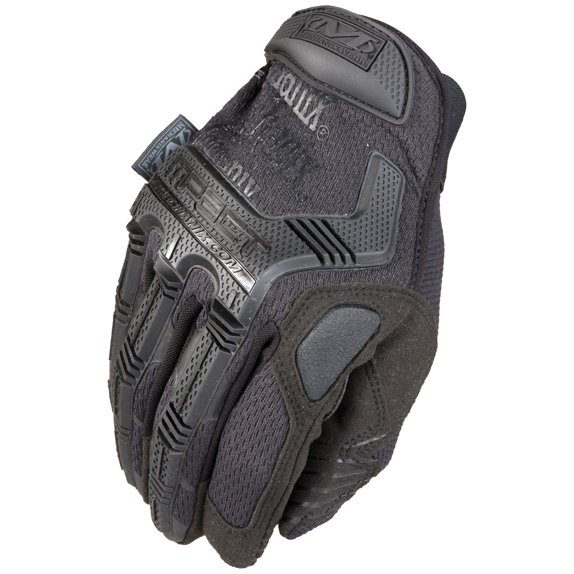 Make an M-Pact(R) in the field. The next generation of M-Pact tactical gloves protect military and law enforcement professionals with EN 13594 rated impact protection. Take control with 0.8mm synthetic leather and stay connected with touchscreen technology in the palm of your hands. The M-Pact features D3O(R) palm padding to dissipate high-impact energy and reduce hand fatigue.