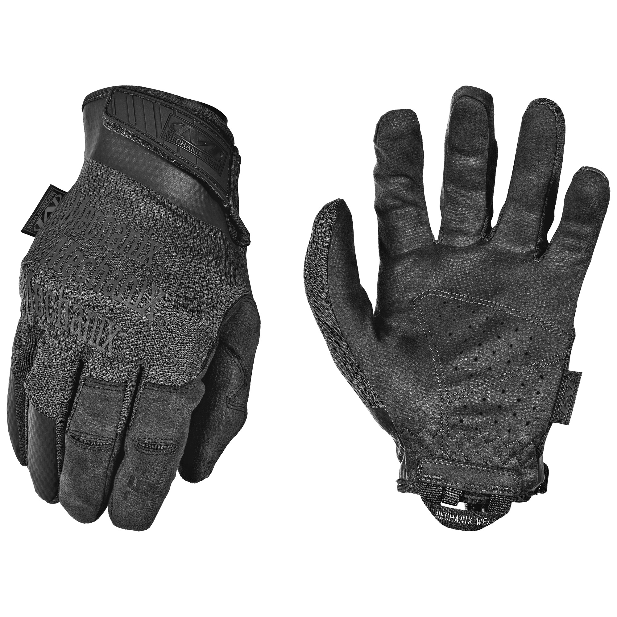 Precision feel and high dexterity are synonymous with 0.5mm palm protection. Our Specialty 0.5mm Covert shooting gloves are built to deliver natural feel and lightweight hand protection in an anatomical design. 0.5mm AX-Suede(TM) provides the perfect blend of tactile control and protection in the field or at the shooting range. Breathable TrekDry(R) conforms to the back of your hands to reduce heat build-up and expandable flex joints improve trigger finger mobility for smooth manipulation.
