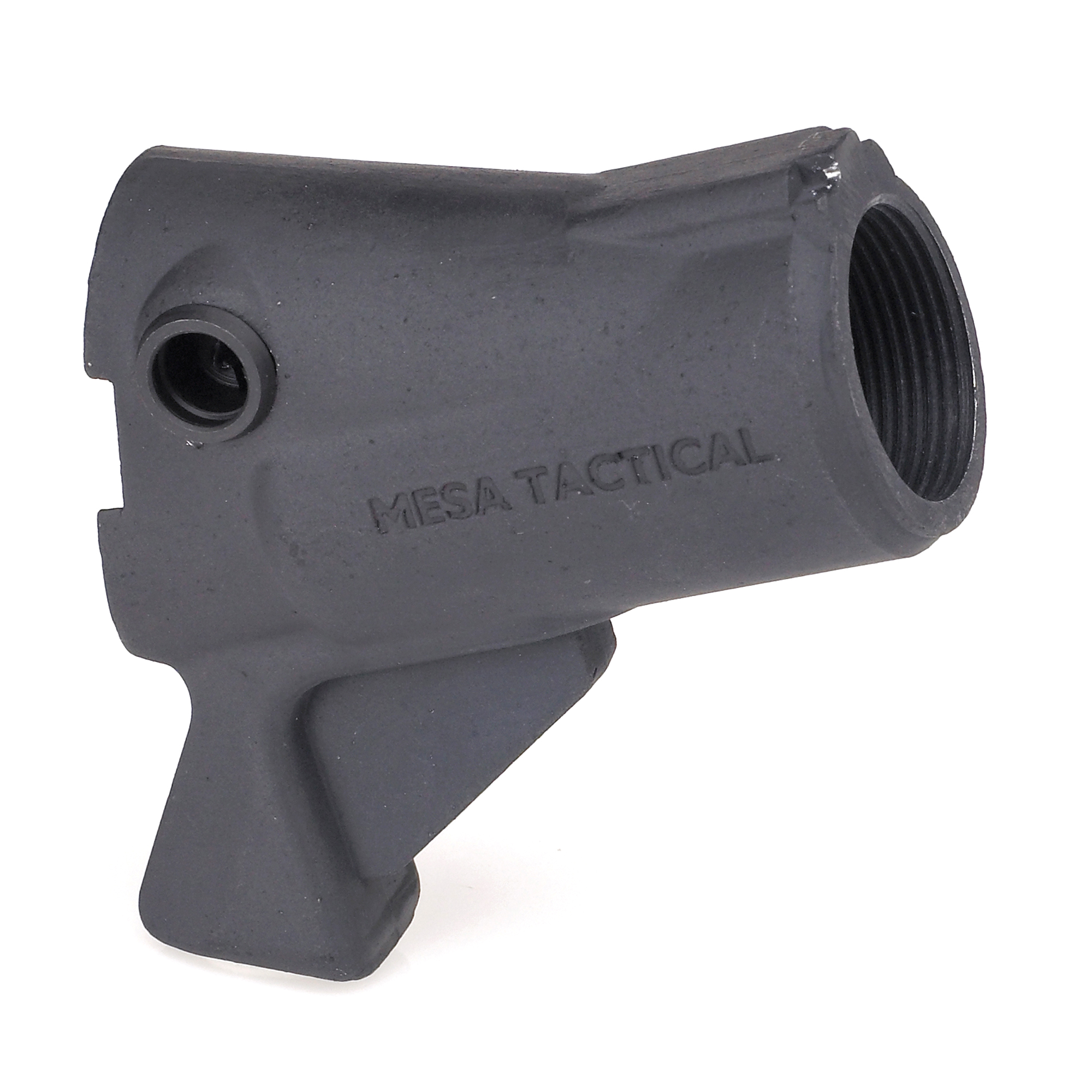 LEO telescoping stock adapters feature a stock elevation about an inch lower than the High-tube adapters and don't require sighting or aiming aids.