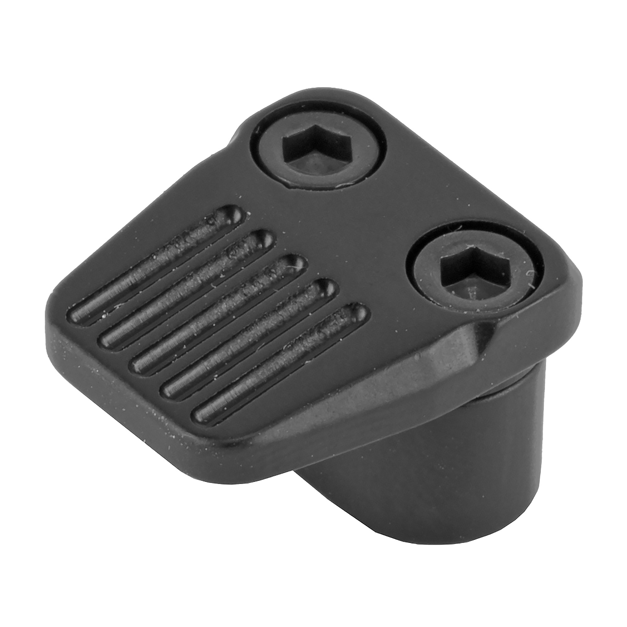 The Enhanced Mag Release provides an enlarged contact surface on the AR15 for quick magazine changes and is constructed from aviation grade aluminum.