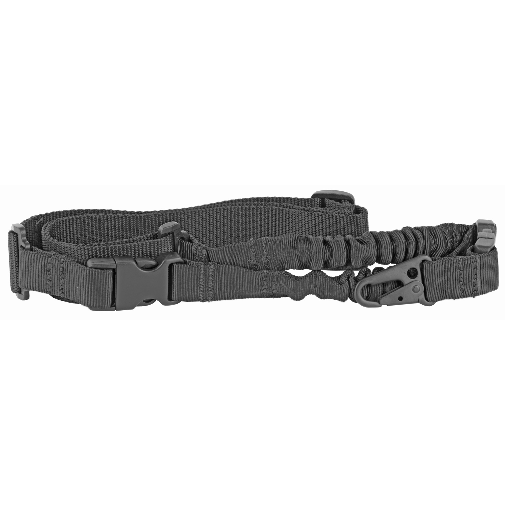 """One point sling allows easy movement when operating inside confined spaces. Maintains its structure for easy donning and has upgraded tubular webbing with fully-enclosed bungee portion"""" allowing for increased durability."""