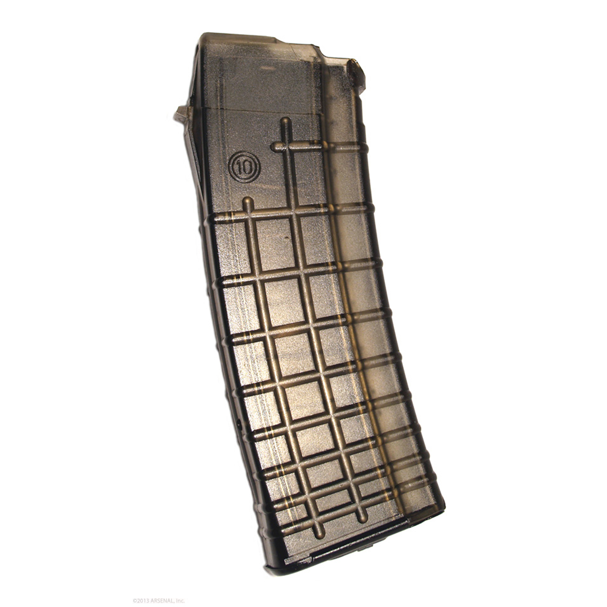 Arsenal makes the best AK pattern magazines on the market today! They feature reinforced feed lips that increase strength and durability. Wear resistant lugs are machined to factory specs to guarantee perfect fit and function.