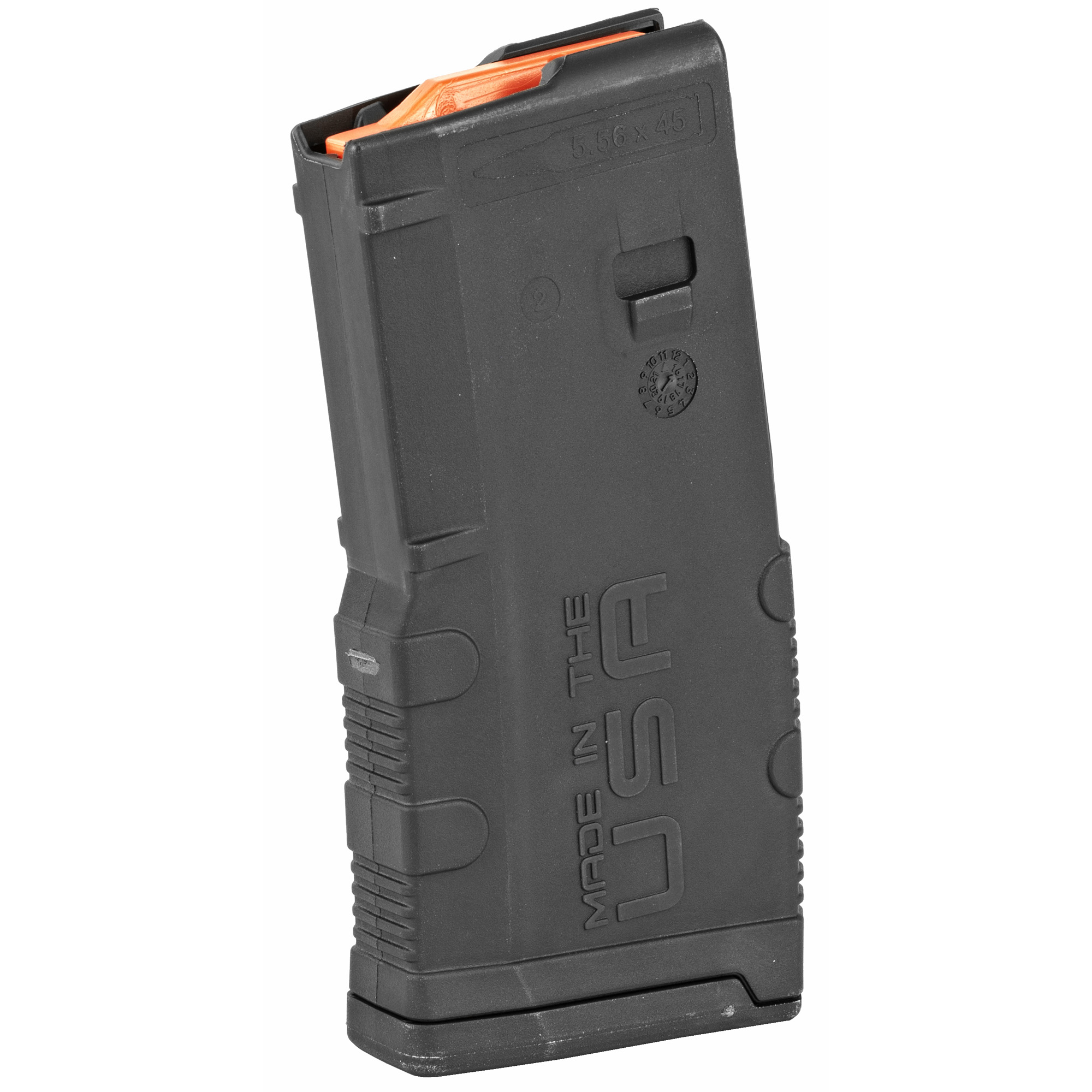 """The Amend2 20-round magazine is a sturdy"""" reliable AR15/M4/M16 magazine made of advanced polymer material. It is light"""" durable and an excellent alternative to the standard M4/M16 USGI aluminum magazines. The 20 round body profile is ideal for added maneuverability and weapon handling."""