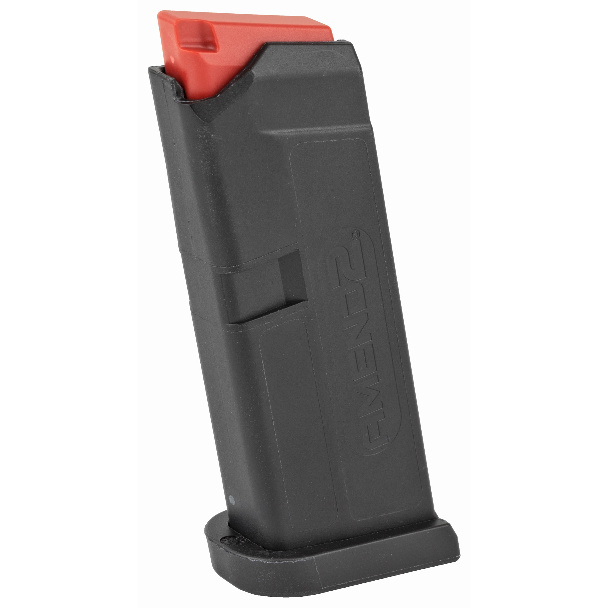 """This Amend2 6-round magazine is designed for use in the GLOCK 42 and is a sturdy"""" reliable .380 AUTO magazine made of advanced polymer material. It is a light"""" durable and excellent alternative to the standard GLOCK OEM magazine."""