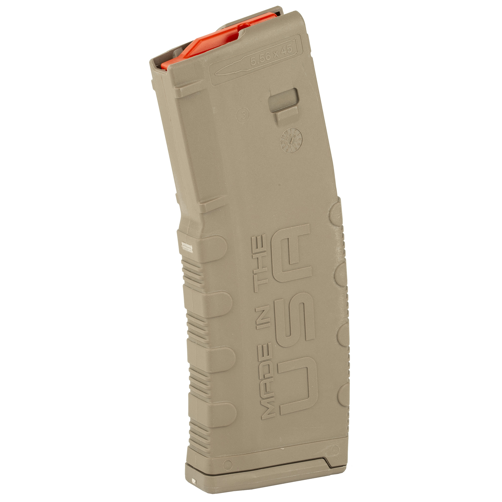 """The Amend2 30-round magazine is a sturdy"""" reliable AR15/M4/M16 magazine made of advanced polymer material. It is light"""" durable and an excellent alternative to the standard M4/M16 USGI aluminum magazines."""