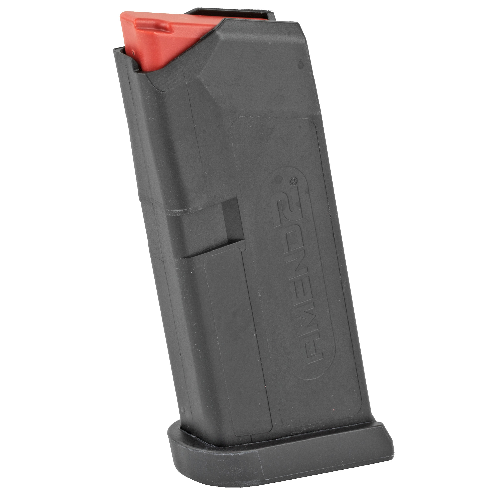 """This Amend2 6-round magazine is designed for use in the GLOCK 43 and is a sturdy"""" reliable 9mm magazine made of advanced polymer material. It is a light"""" durable and excellent alternative to the standard GLOCK(R) OEM magazine."""