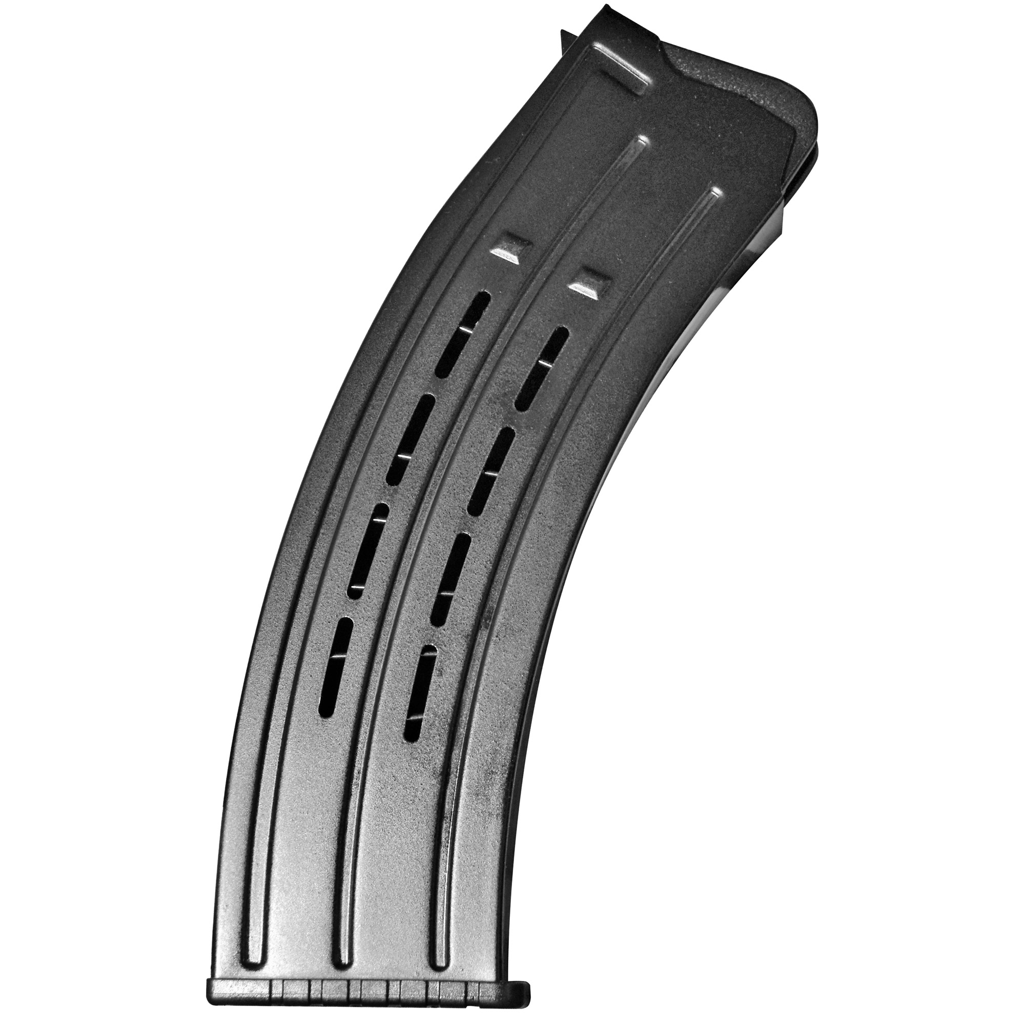 This RIA Imports magazine for VR60/80 and Bull rocket shotguns is a standard factory replacement magazine. This magazine has a 9 round capacity and is chambered in 12GA.