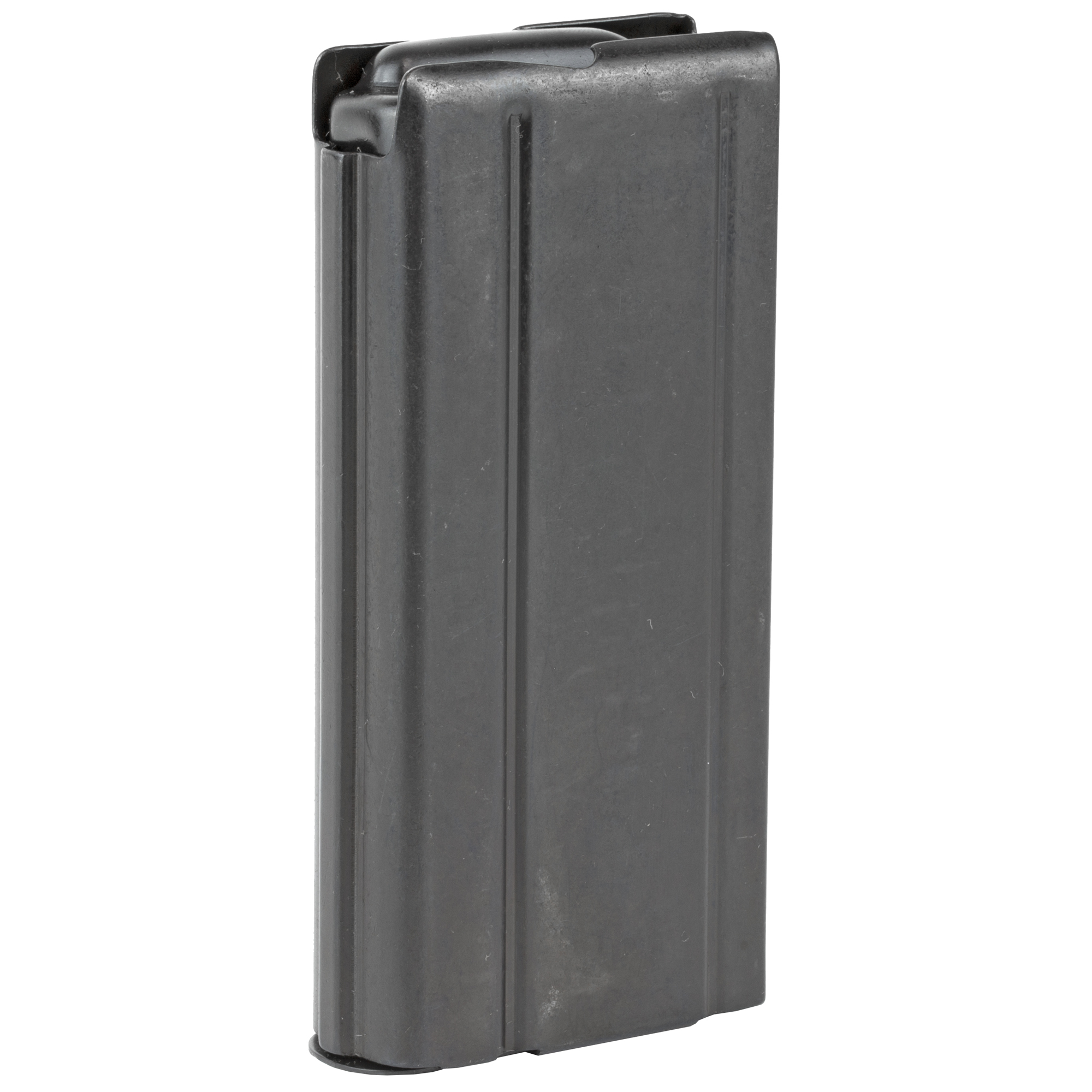 This Auto Ordnance M1 Carbine magazine is designed to hold 15 rounds of .30 Carbine ammunition and is made of steel.