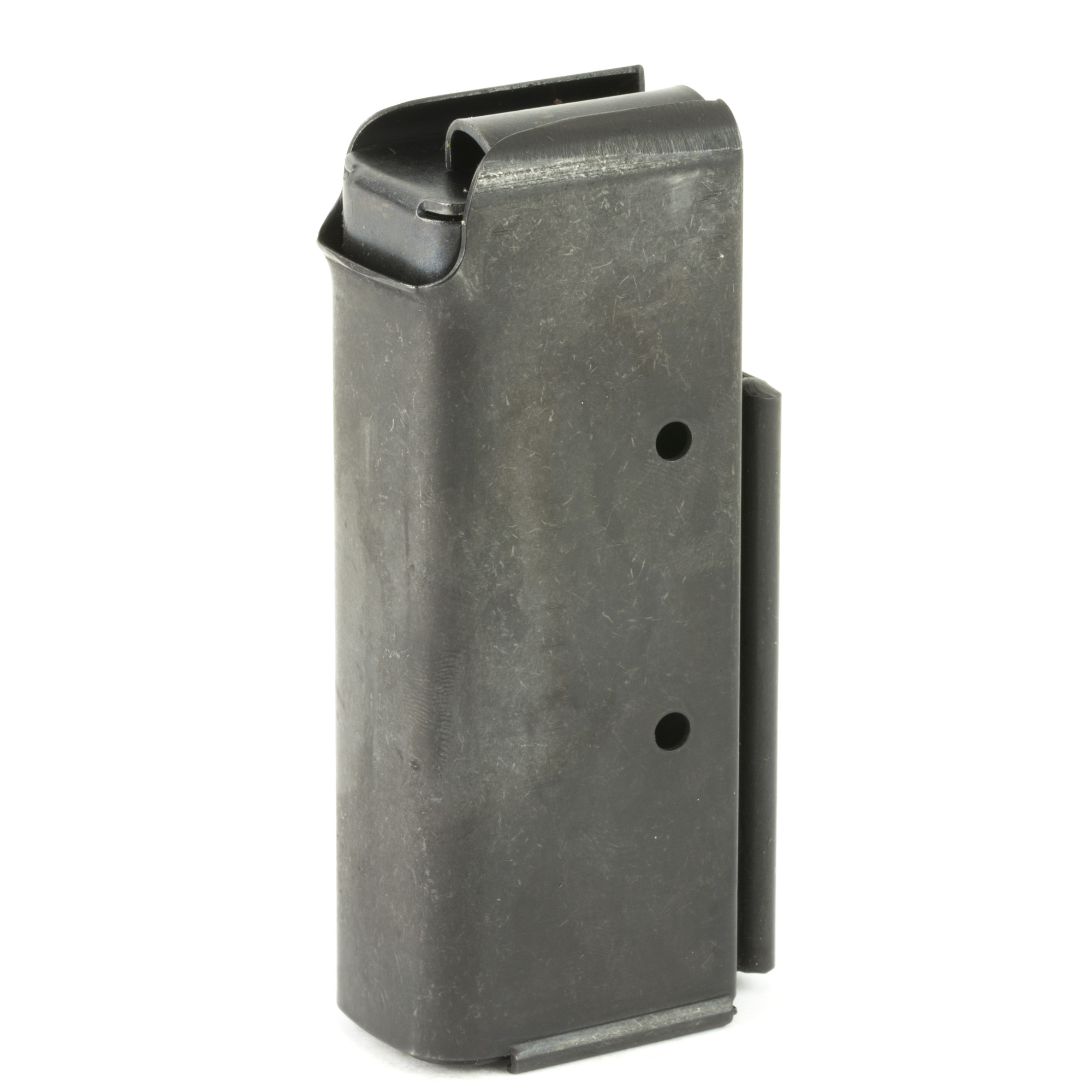 This Auto Ordnance Thompson Stick magazine is designed to hold 10 rounds of .45ACP ammunition and is made of steel.