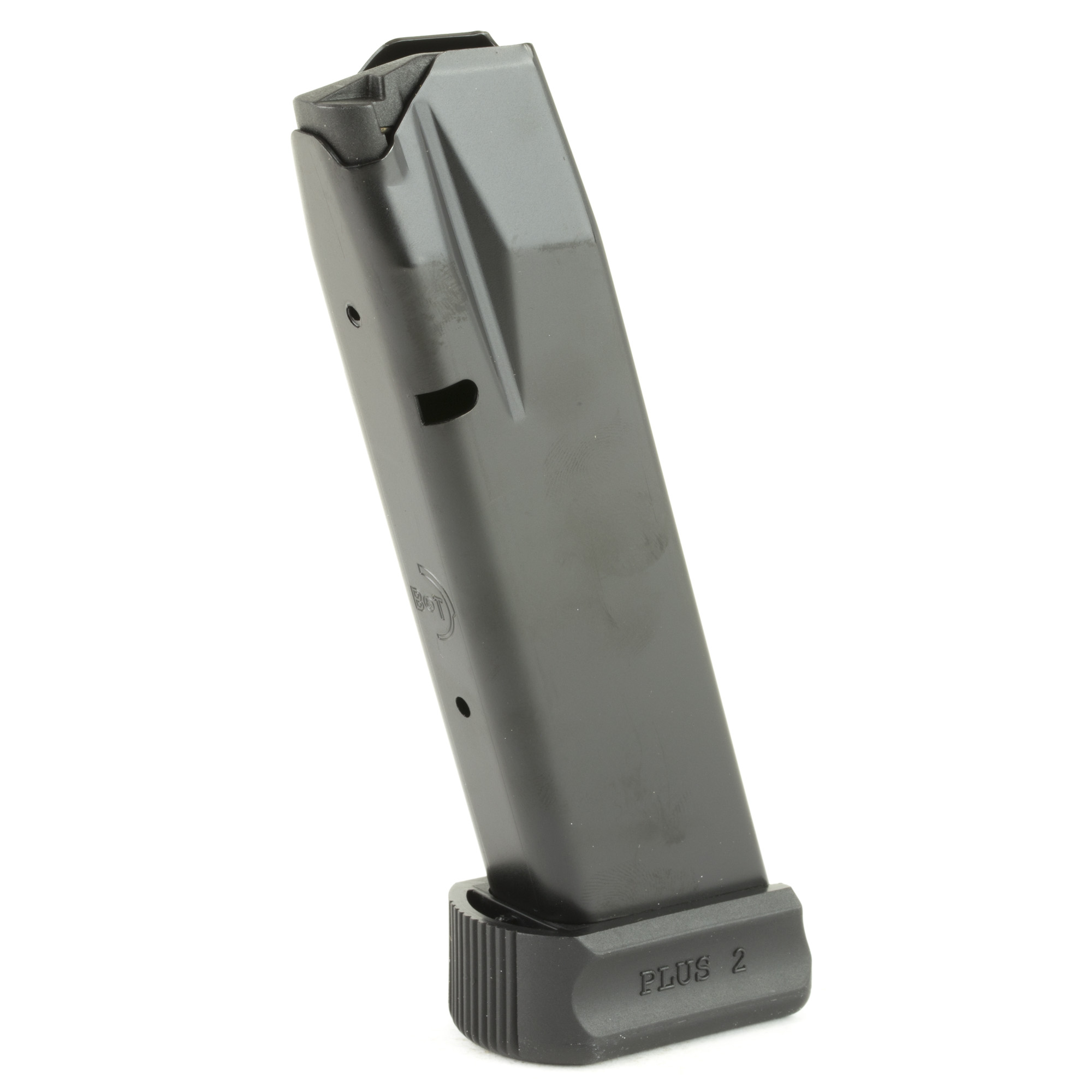 These B&T's USW replacement magazines feature the same reliability as the mags that ship with new B&T firearms. These high quality factory magazines hold 19 rounds of 9mm ammunition.