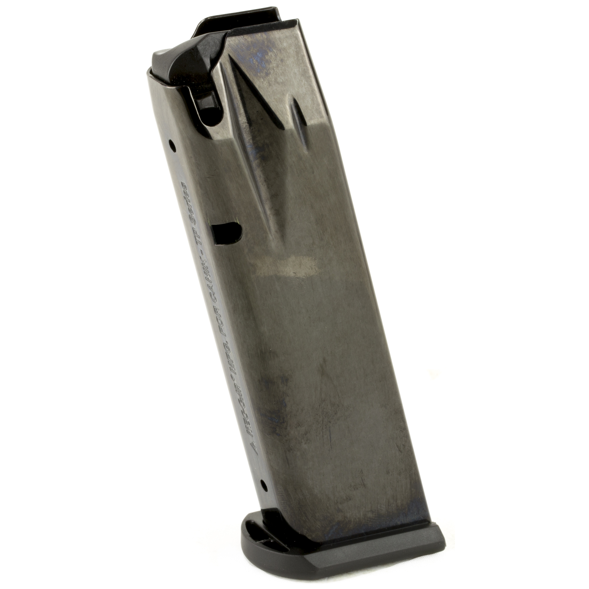 The Century Arms TP9 series magazine is a standard factory replacement magazine. Durable steel construction ensures flawless function and long-term reliability.
