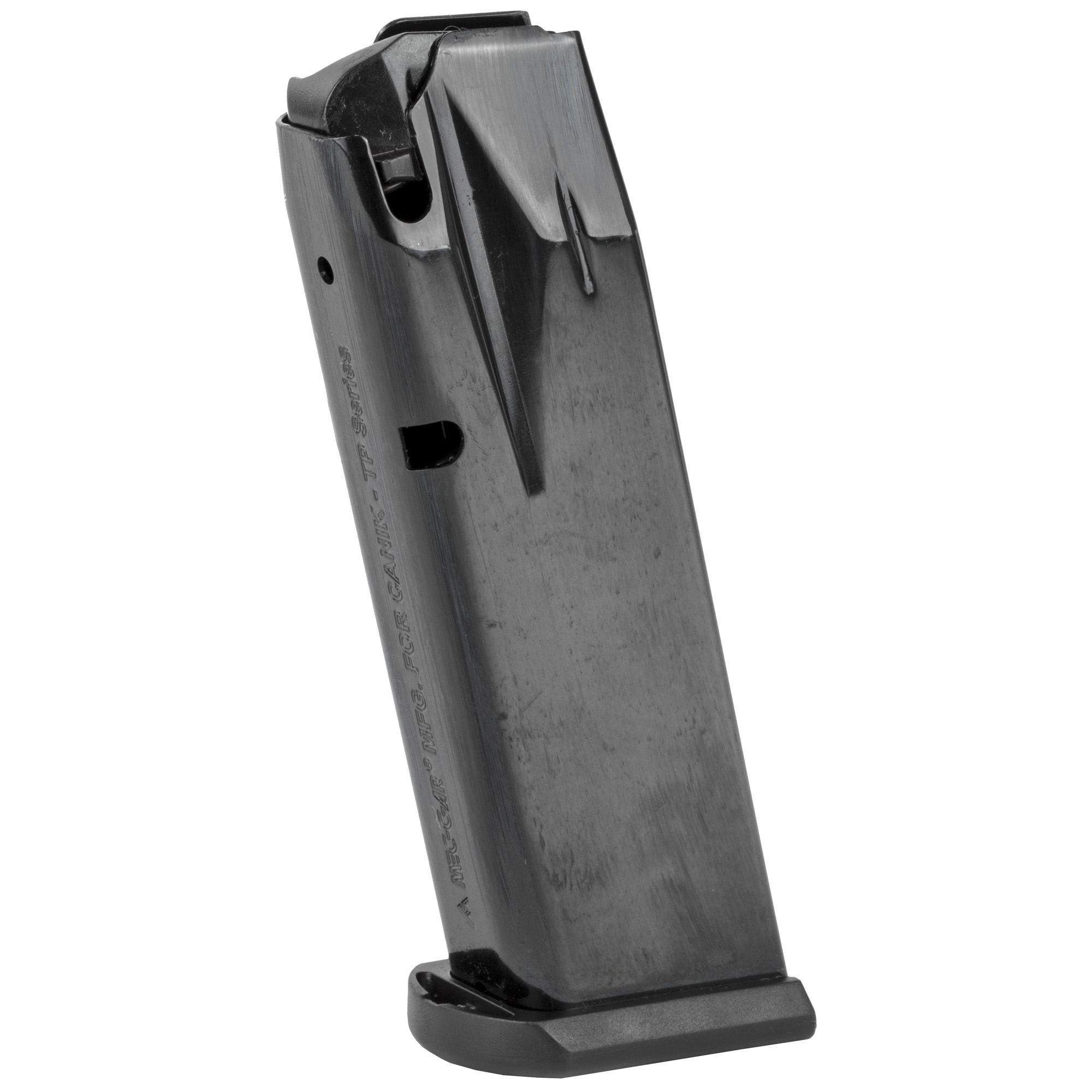 The Century Arms TP9SF Elite magazine is a standard factory replacement magazine. Durable steel construction ensures flawless function and long-term reliability.