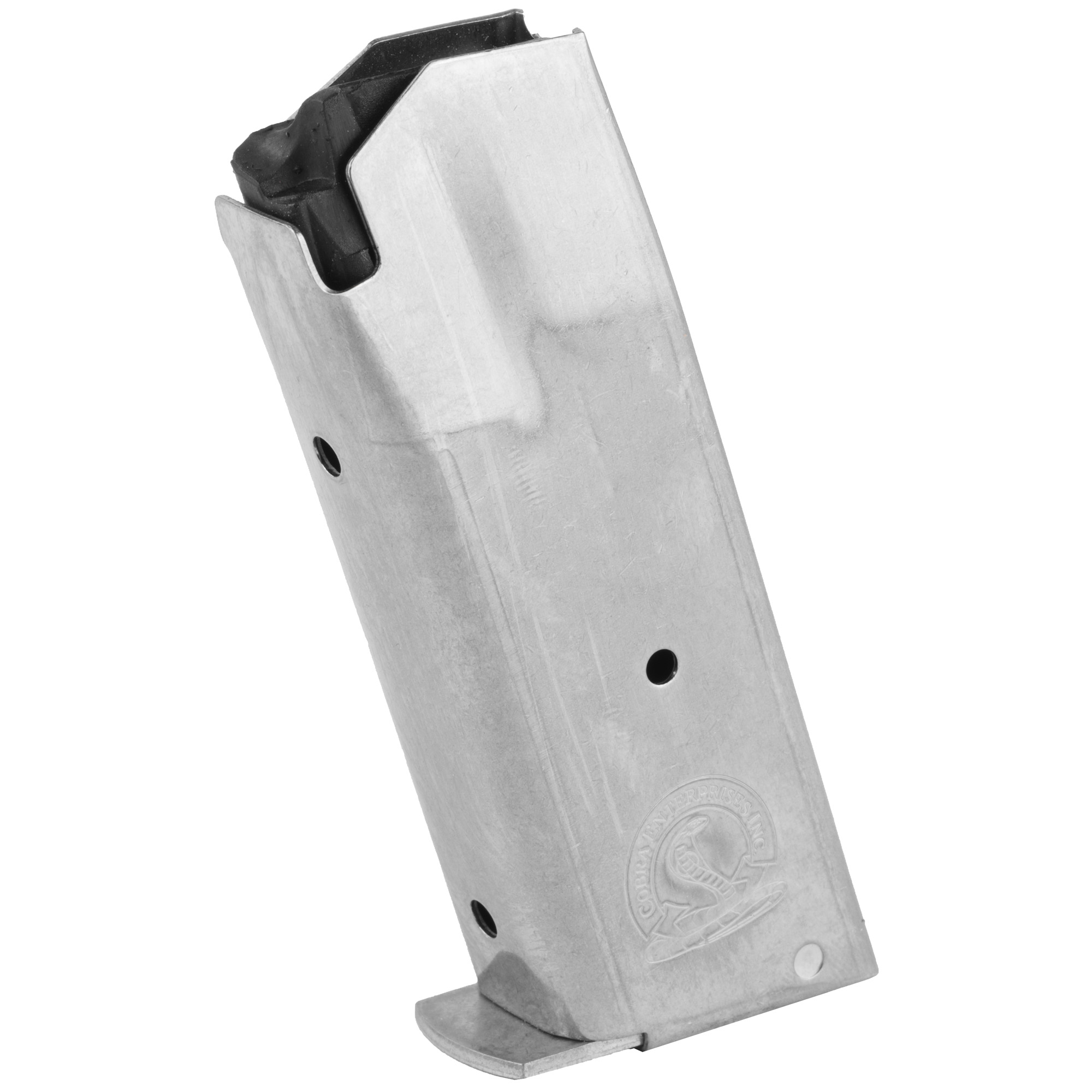 This Cobra Enterprises Magazine is a standard factory replacement magazine. It features metal construction and comes in a natural/stainless finish.