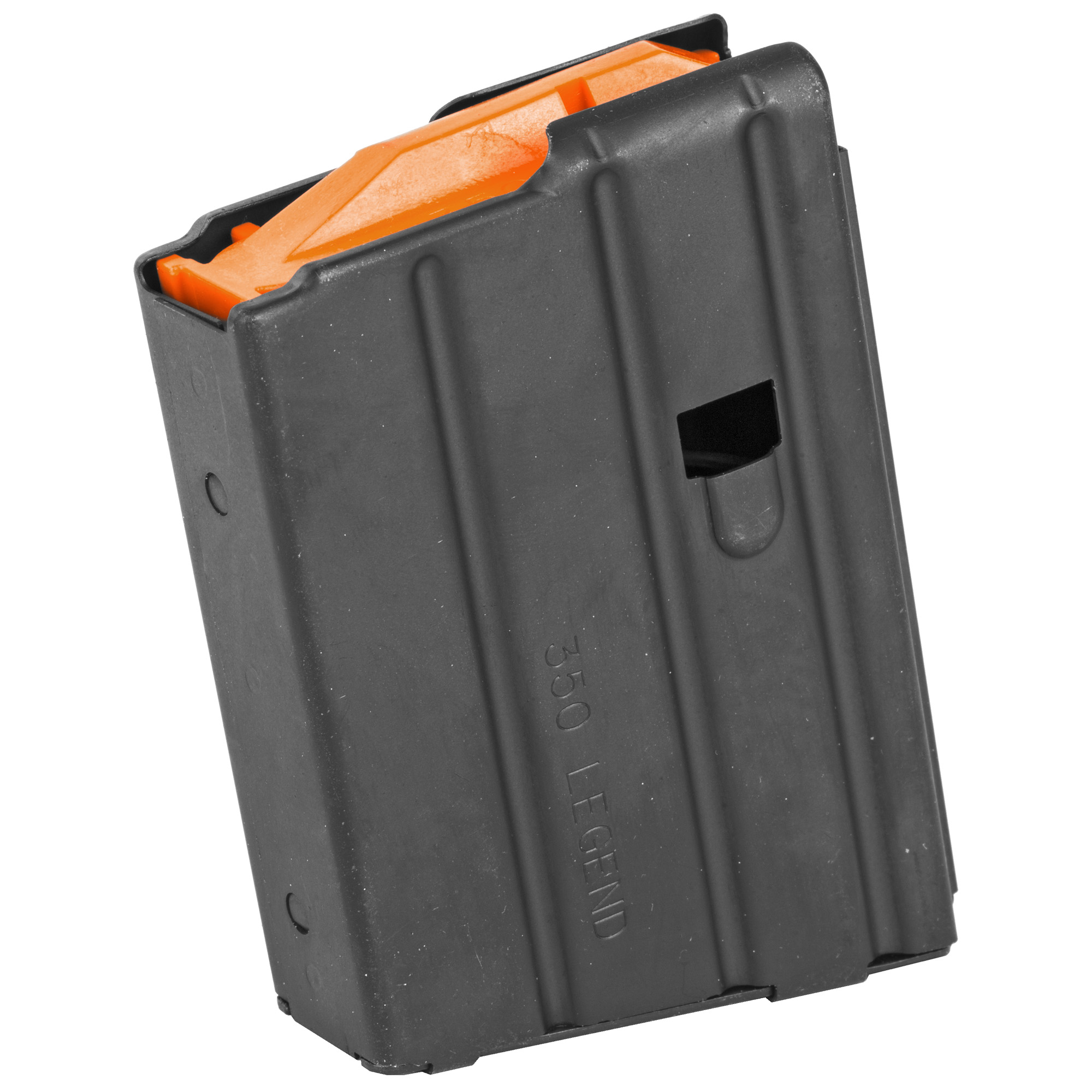This CMMG Magazine is a standard factory replacement magazine that is designed for use with AR15's chambered in .350 Legend. It features a stainless steel body and holds 10 rounds of .350 Legend ammunition.