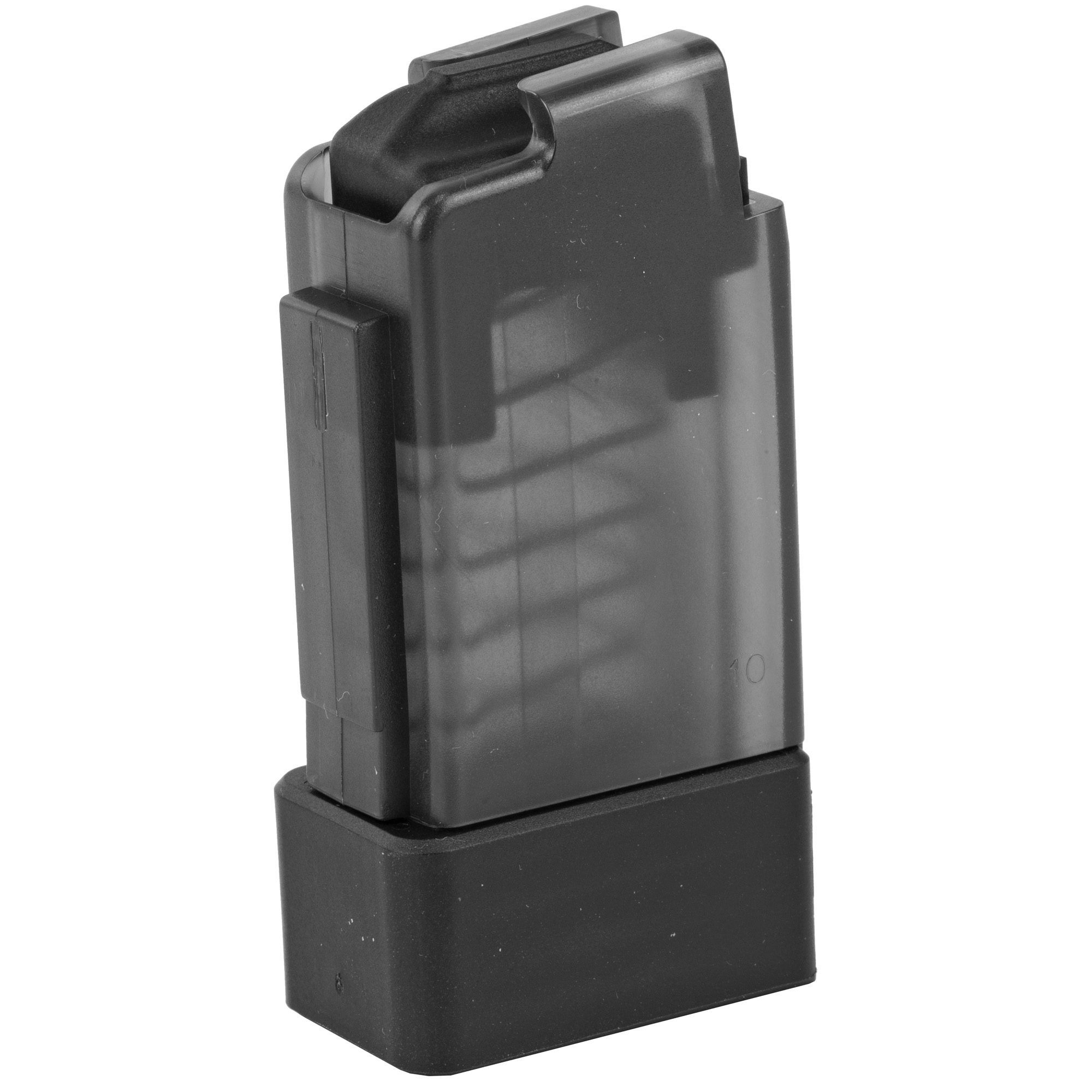 This CZ factory OEM magazine features translucent polymer construction and is designed for reliable operation in the CZ Scorpion EVO 3 S1.