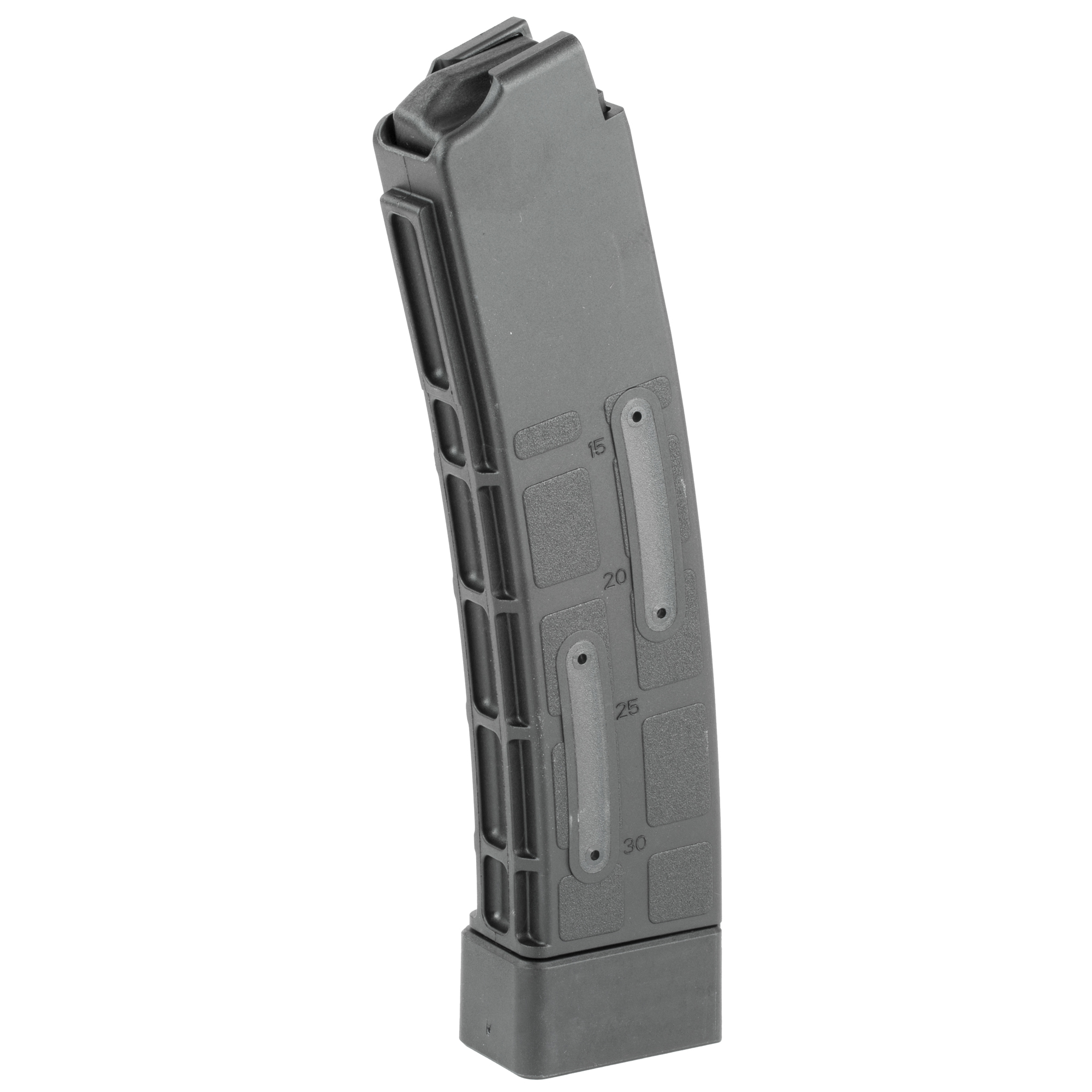 """This CZ factory OEM magazine features polymer construction"""" windows with round count numbers"""" and is designed for reliable operation in the CZ Scorpion."""