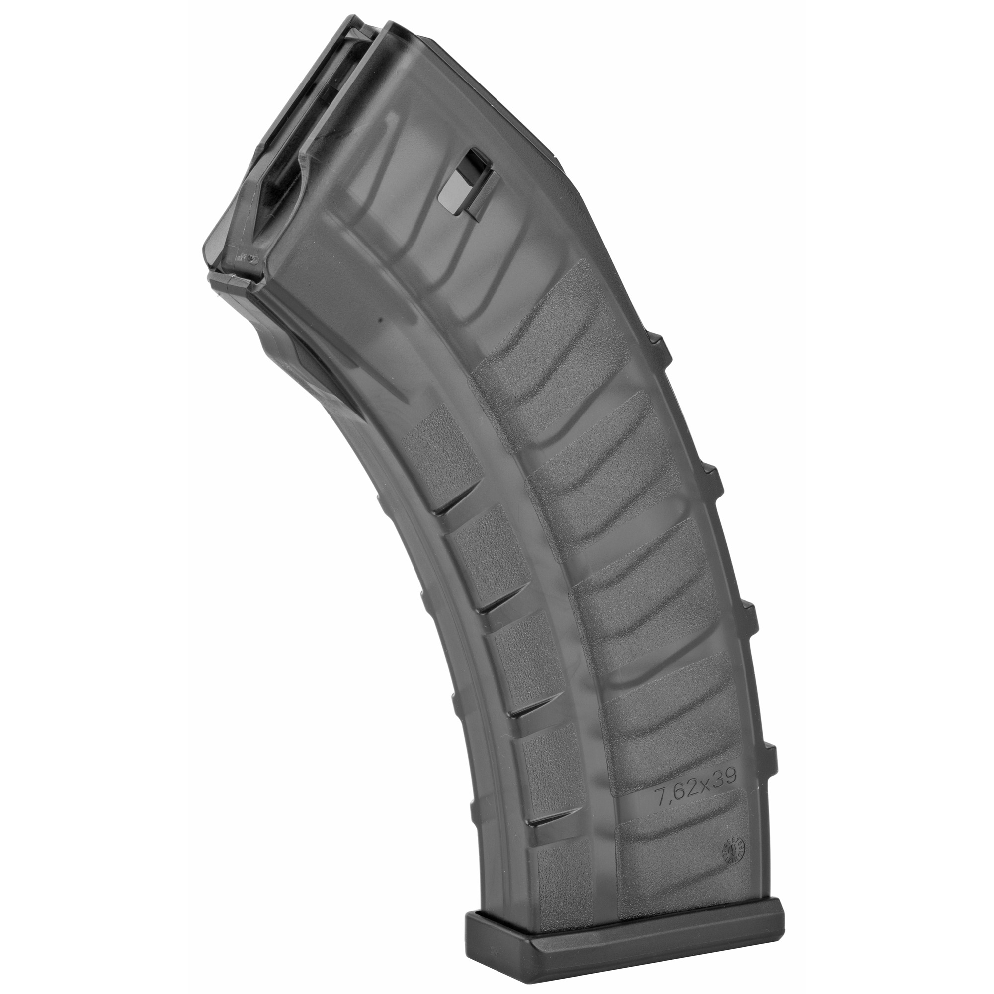 This CZ factory OEM magazine features translucent polymer construction and is designed for reliable operation in the CZ BREN 2.