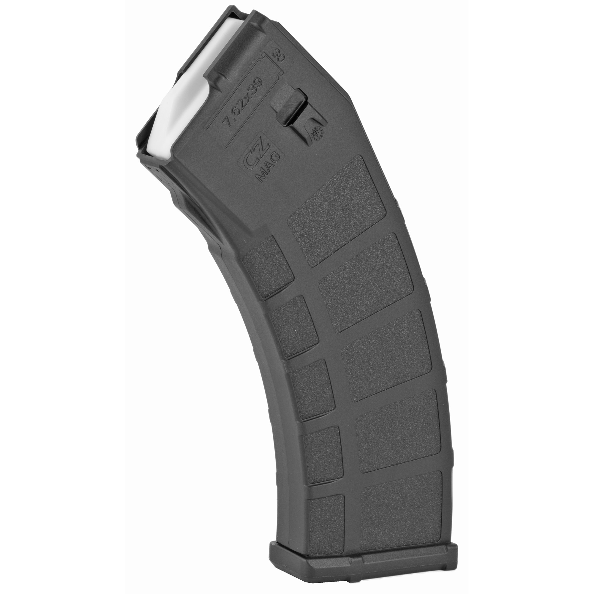 This CZ factory OEM magazine features polymer construction and is designed for reliable operation in the CZ BREN 2.