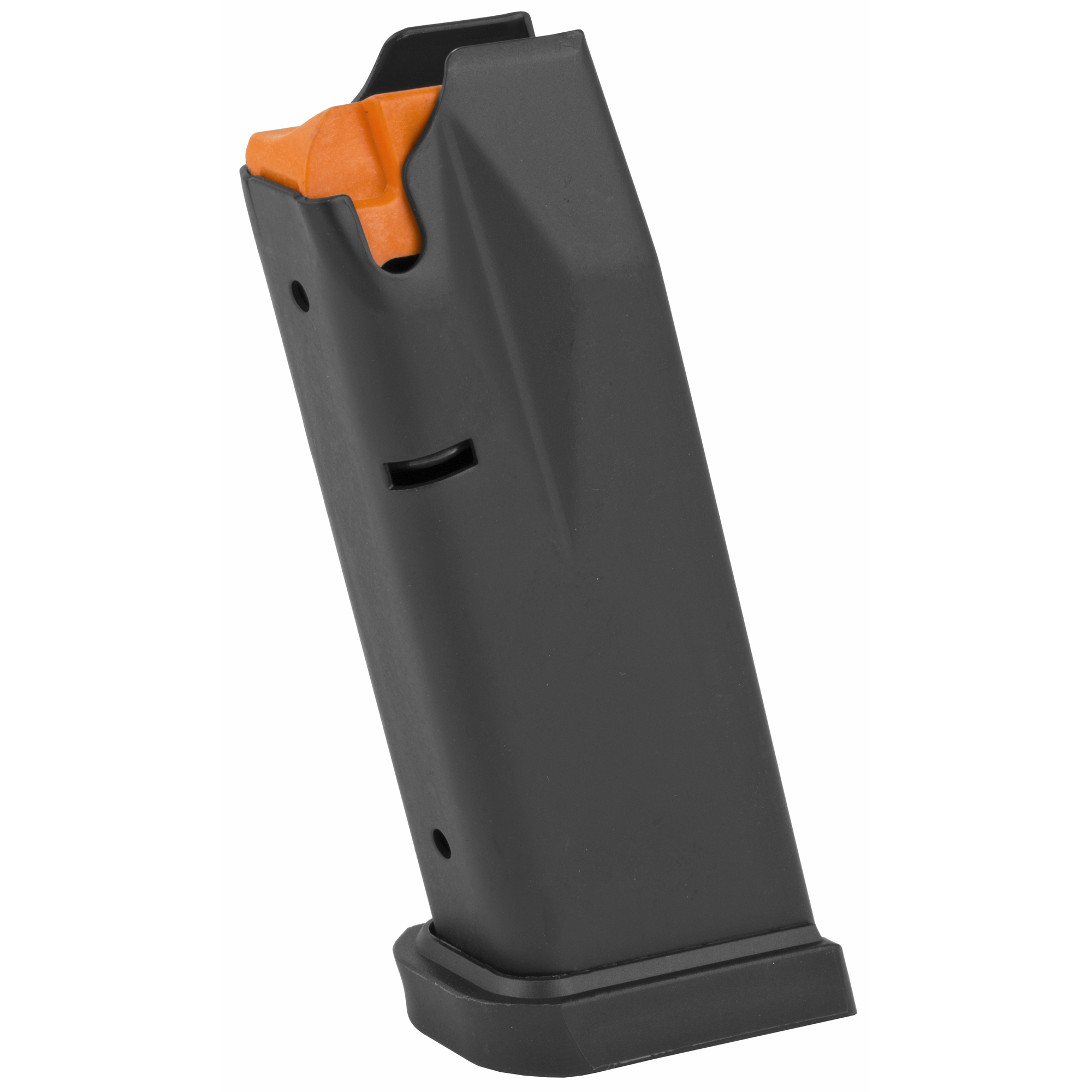 This magazine fits the AM2 and holds 12 rounds of 9mm ammunition. It features a metal alloy body and is made using the same manufacturing and materials as the original equipment magazines