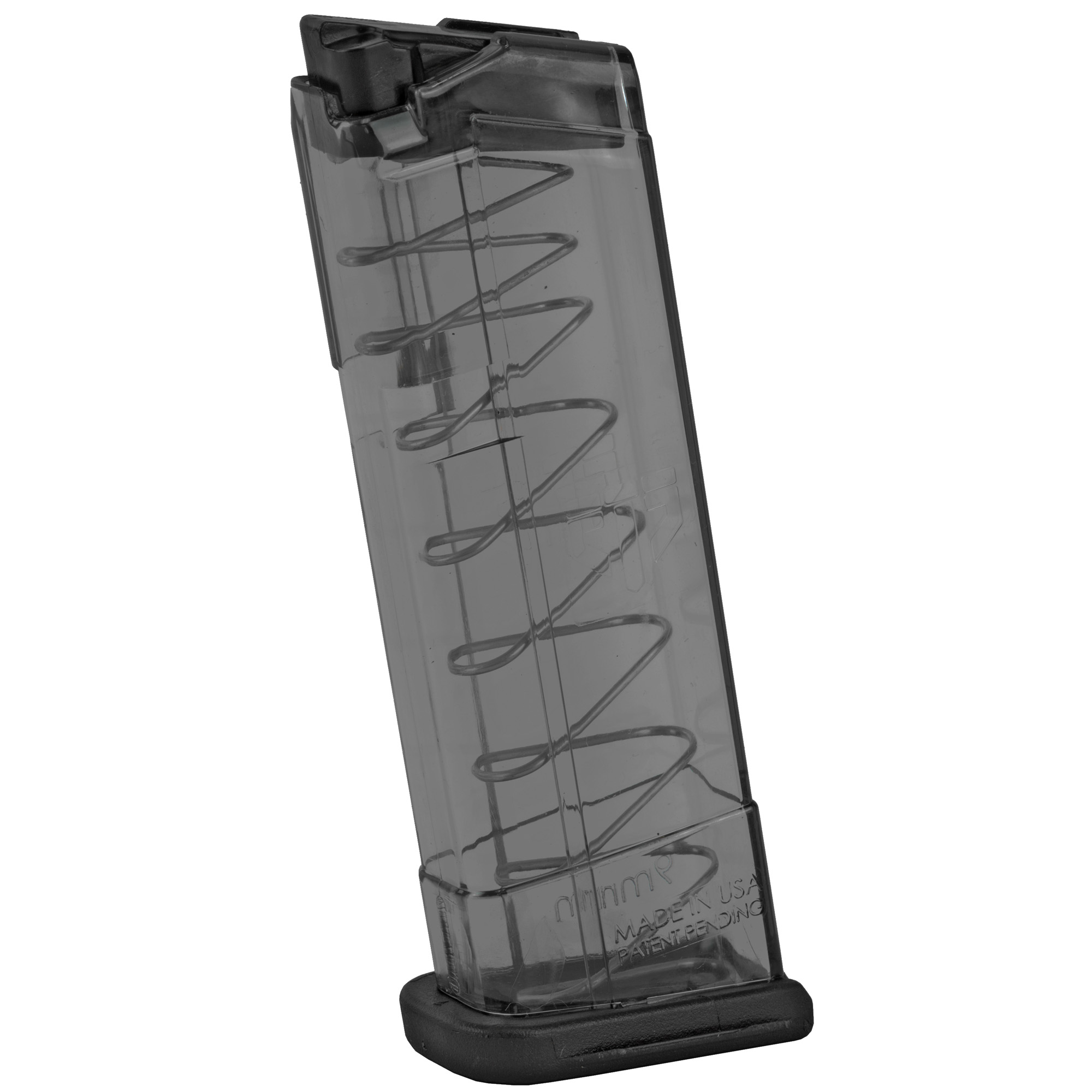 """This ETS magazine features extreme impact resistance"""" creep resistant feed lips and a translucent body that allows you to see your ammo count and type. It is compatible with Glock and aftermarket floorplates."""