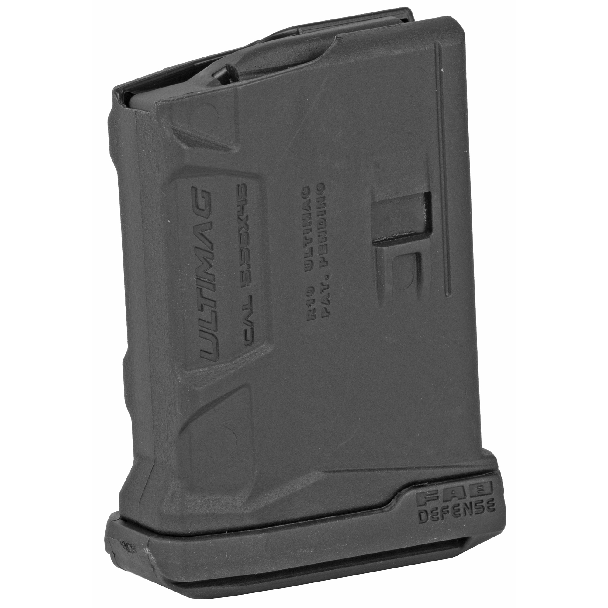 "The FAB Defense AR15 Magazine is a high quality aftermarket magazine made of durable"" lightweight polymer. It features an ergonomic design made for enhanced grip and faster magazine changes."
