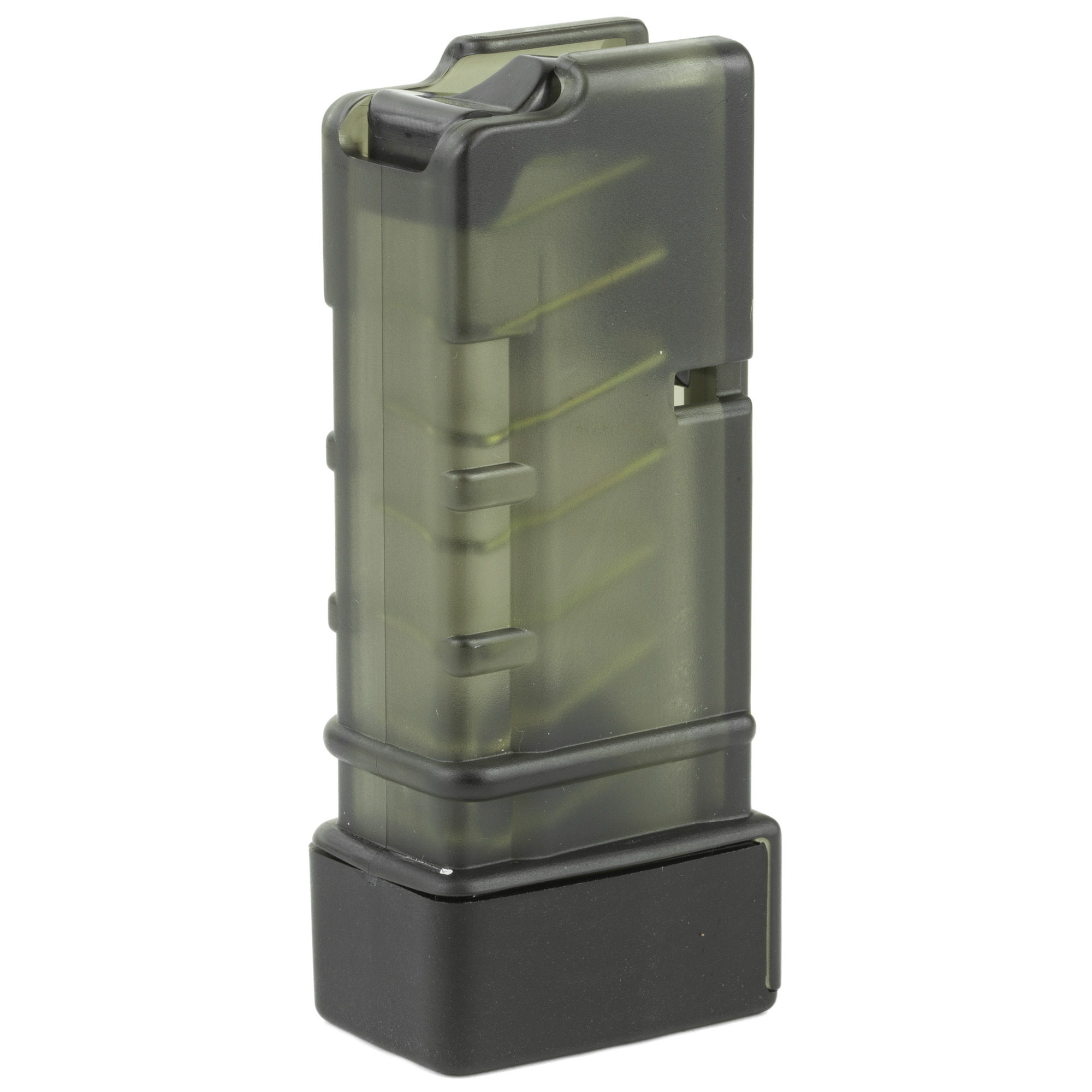 This Grand Power SP9A1 magazine features polymer construction and a high quality spring and follower.