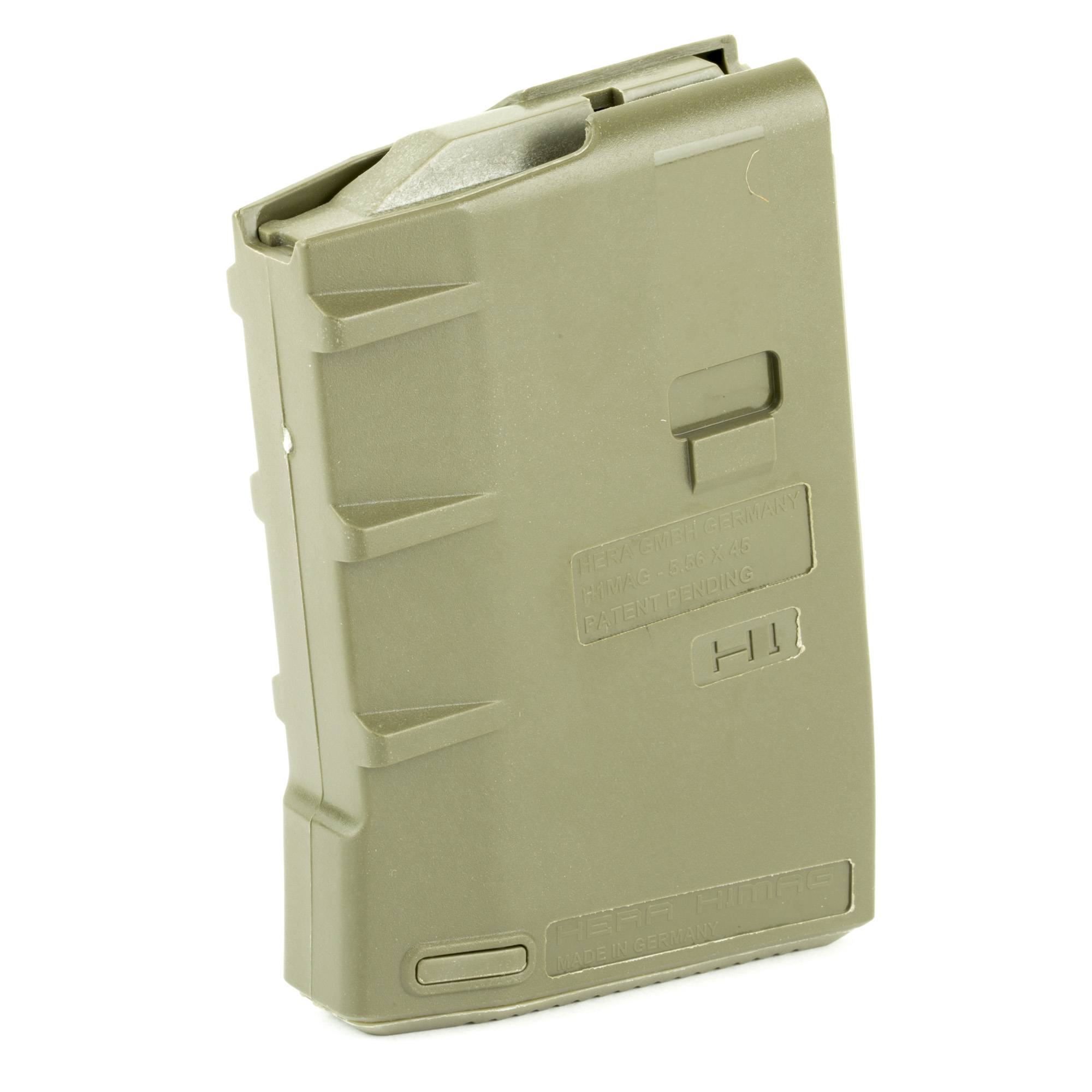 """The HERA USA H1 magazines are built from high quality impact resistant polymer. HERA magazines are compatible with standard AR-15 rifles"""" pistols"""" and lower receivers."""