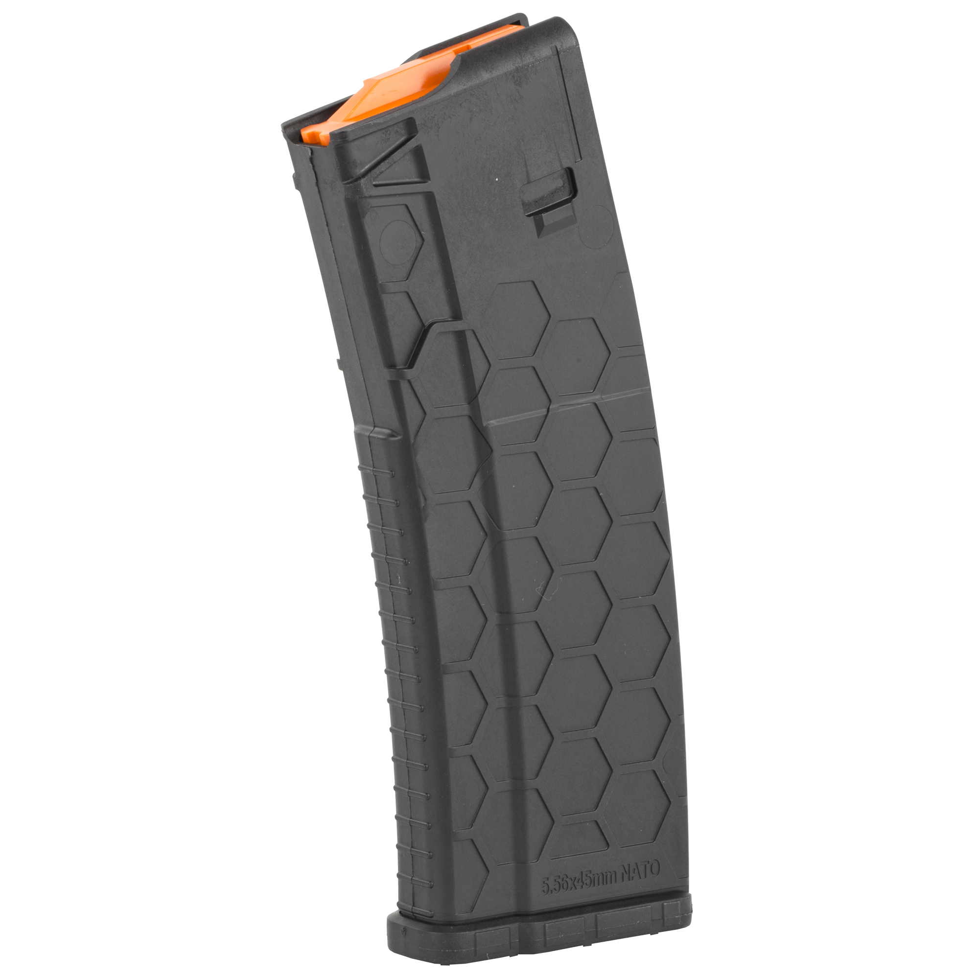 """The next evolution in AR15 magazines is here - the SENTRY Hexmag featuring the iconic Hexture design pattern. Enhancements make this the most compatible"""" user-friendly magazine on the market"""" while SENTRY's proprietary PolyHex2 Advanced Composite delivers superior strength and reliable performance for lifetime usability."""