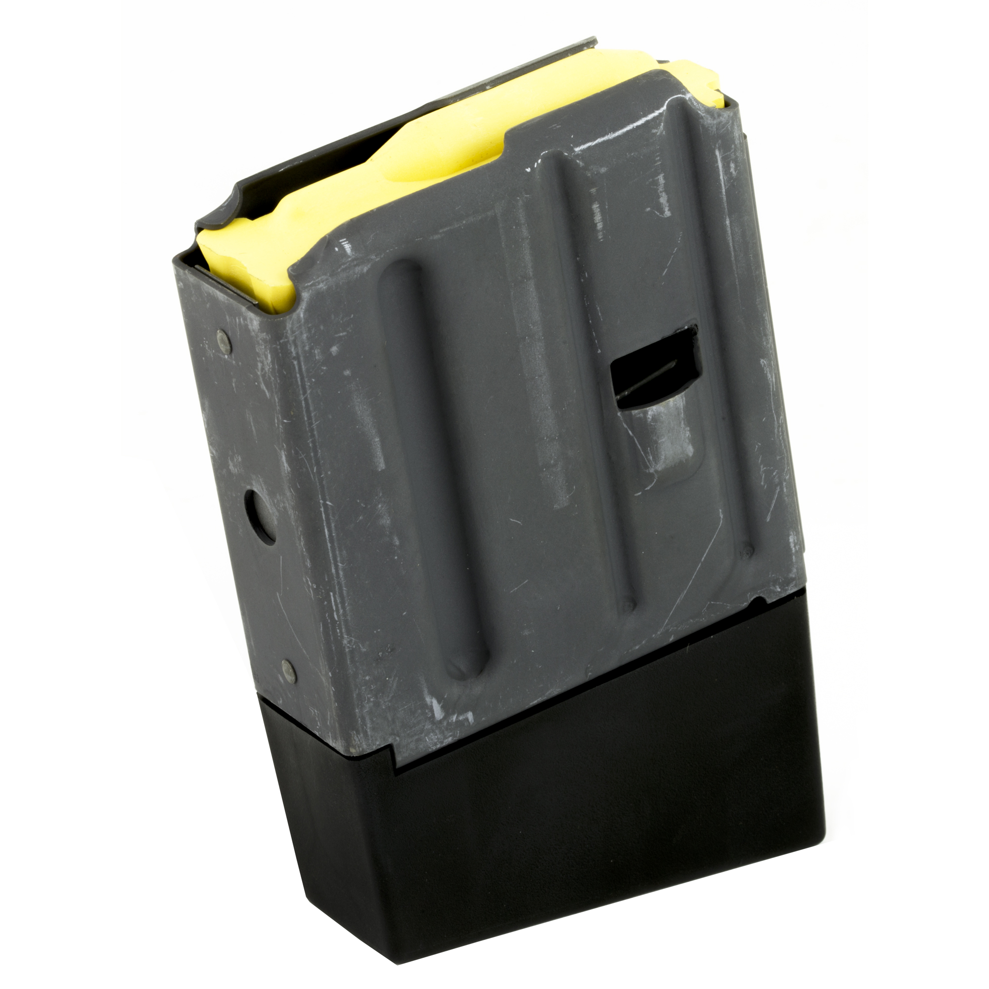 """SureFeed magazines are 100% made in the U.S.A."""" with all-American components. The magazine bodies and floor plates are lightweight aluminum and heat-treated to Mil-Spec requirements for strength and durability. SureFeed magazines allow for speed"""" accuracy and precision for the expert marksmen or law enforcement professional who cares about true quality."""