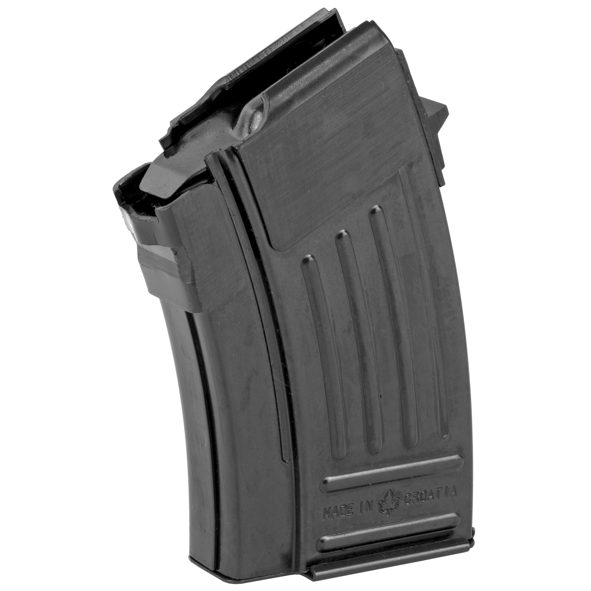 This 10 round steel magazine will fit AK-47 variants and features a high quality spring and follower designed to ensure reliable feeding and operation.