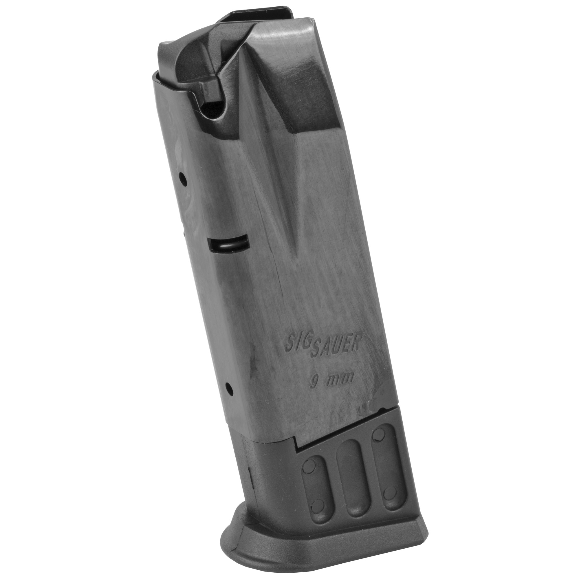 "Trusted by military"" police and civilians for decades"" SIG SAUER has earned a worldwide reputation for the unquestioned accuracy and unflinching reliability of its pistols and rifles. SIG SAUER magazines provide exceptional fit and reliable feeding in their high quality firearms."