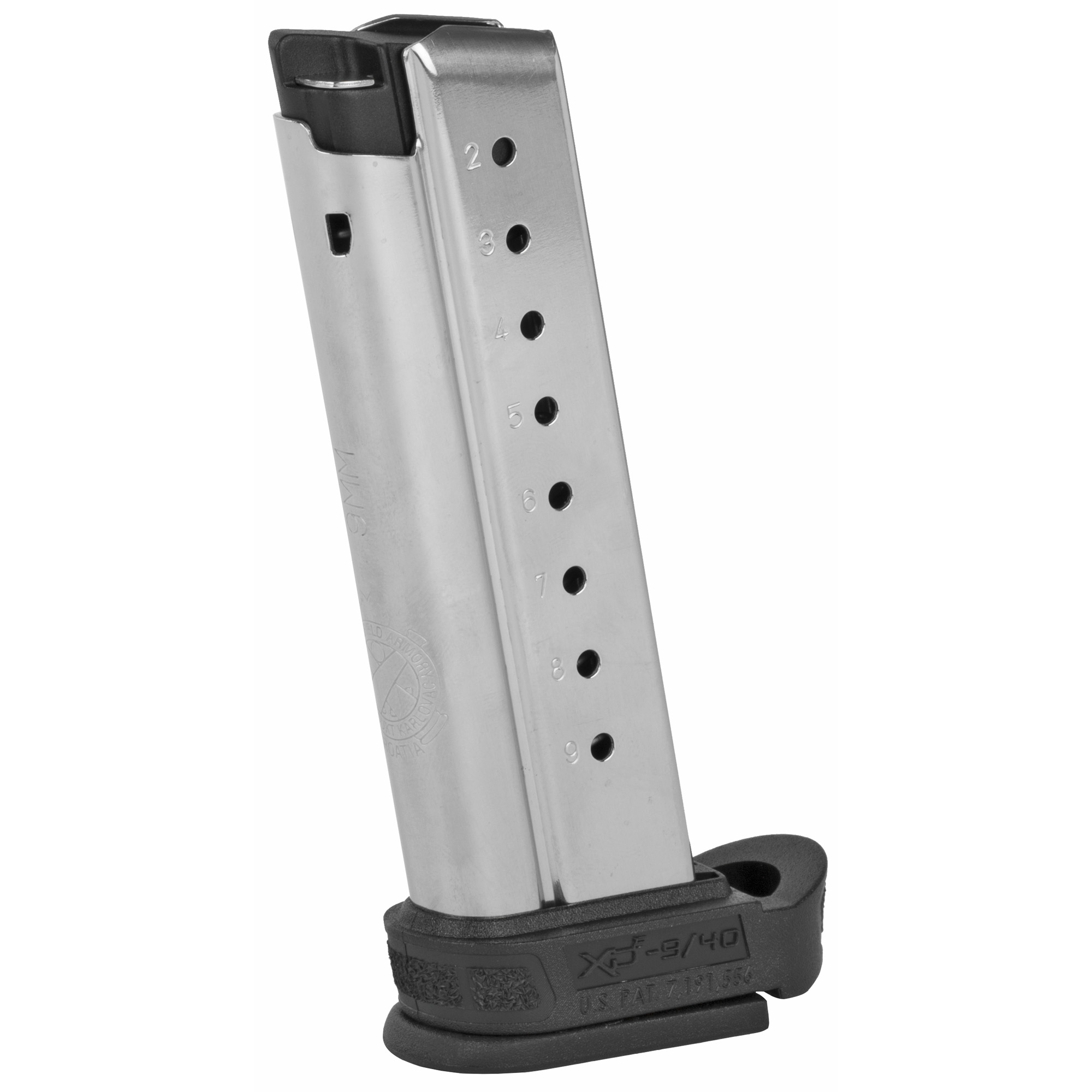 This Springfield Armory factory magazine features high quality components and precise manufacturing that will ensure long-lasting performance and reliability.