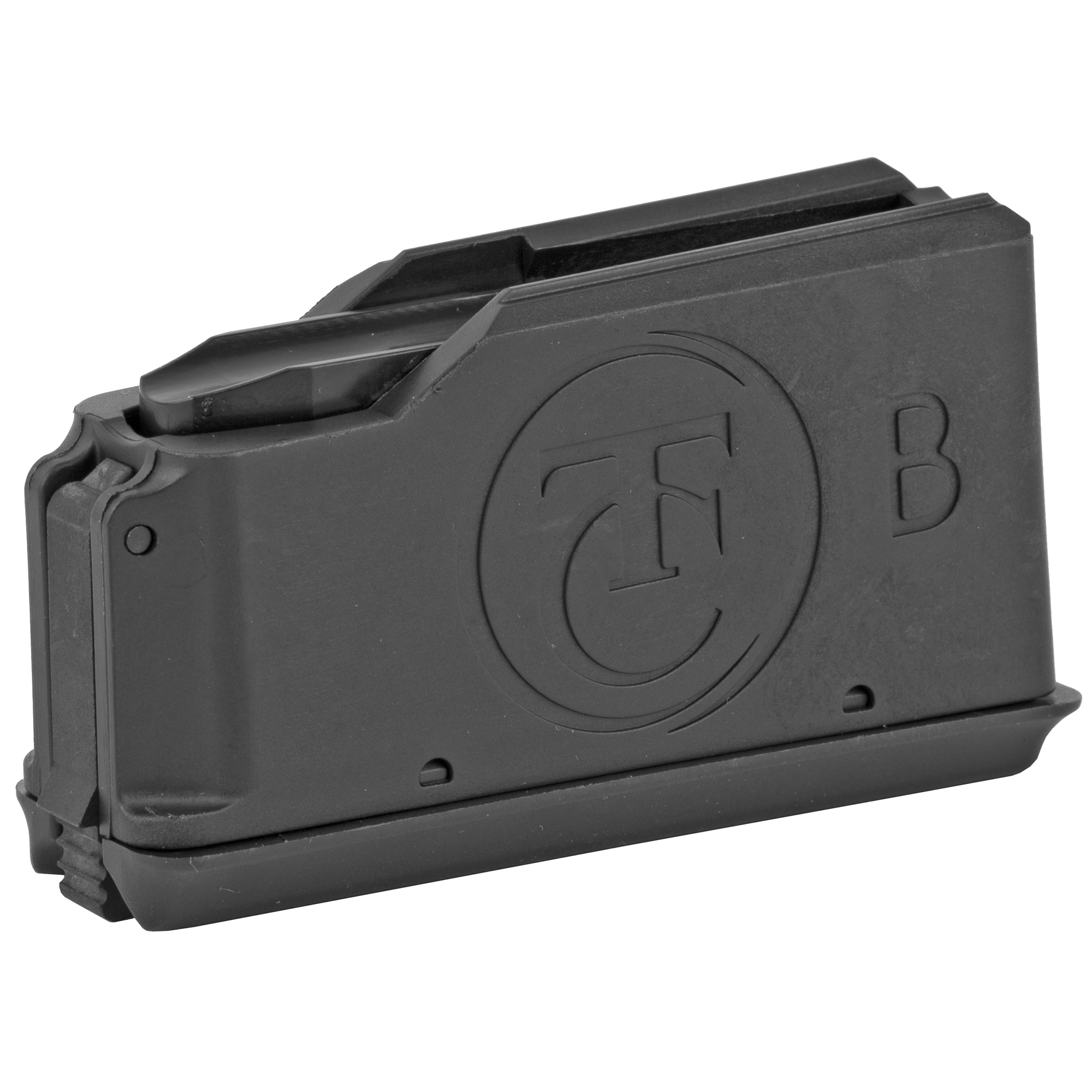 This Thompson/Center factory magazine features high quality components and precise manufacturing that will ensure long-lasting performance and reliability.