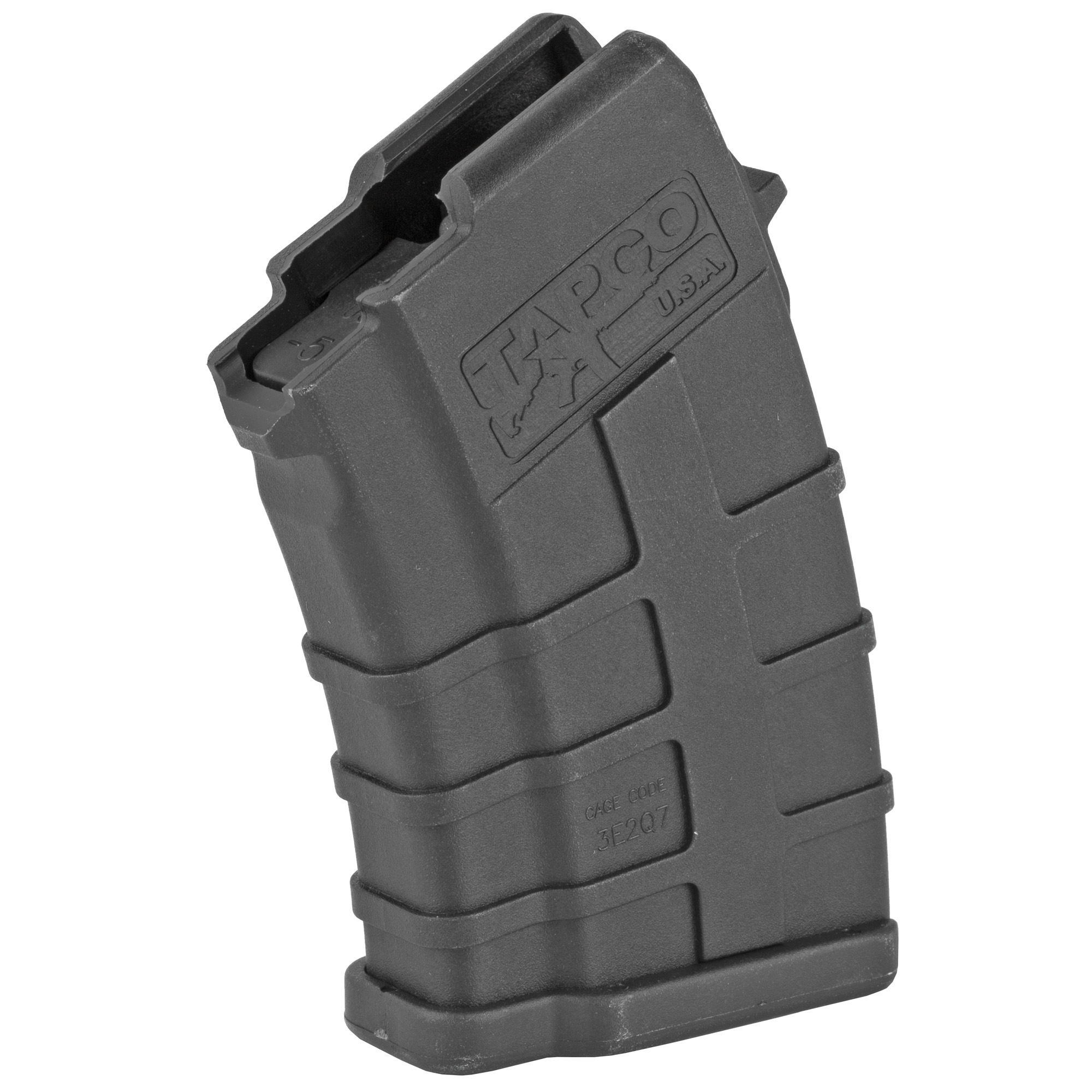 Can't find a rugged and reliable low capacity AK mag? The Tapco 5rd AK-47 Magazine is your answer. The reinforced composite material prevents corrosion while the heavy duty spring and anti-tilt follower ensure that every round will feed perfectly. Fits the AK-47 using 7.62x39mm ammunition. Not to mention that it counts as 3 U.S. 922r compliant parts.