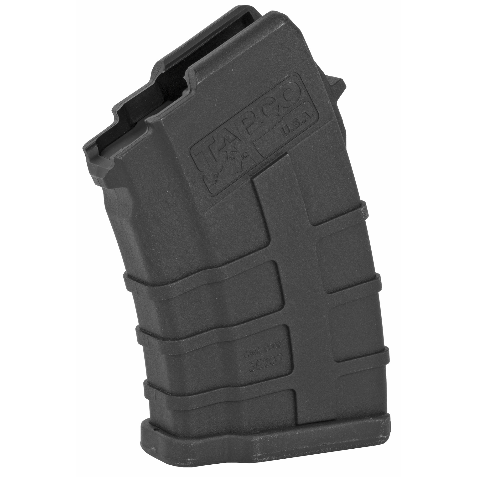 Can't find a rugged and reliable low capacity AK mag? The Tapco 10rd AK-47 Magazine is your answer. The reinforced composite material prevents corrosion while the heavy duty spring and anti-tilt follower ensure that every round will feed perfectly. Fits the AK-47 using 7.62x39mm ammunition. Not to mention that it counts as 3 U.S. 922r compliant parts.